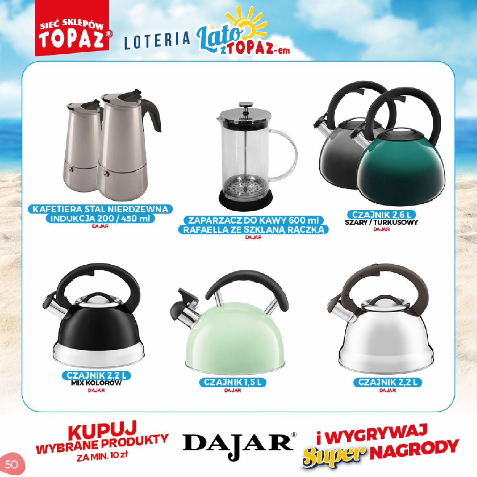 Gazetka TOPAZ: Gazetka TOPAZ - Loteria 2021-07-05 page-50