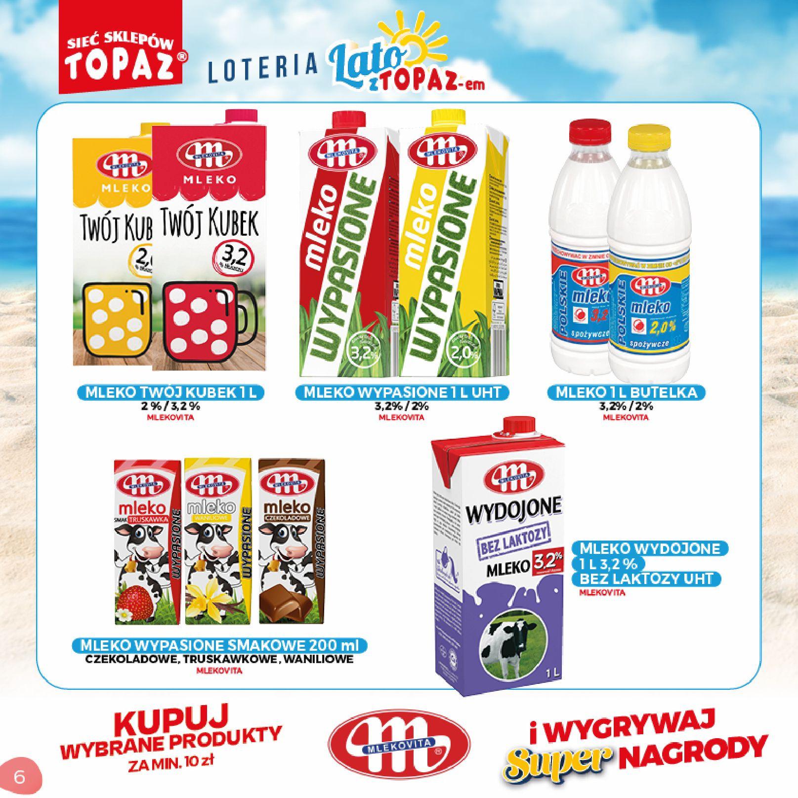 Gazetka TOPAZ: Gazetka TOPAZ - Loteria 2021-07-05 page-6