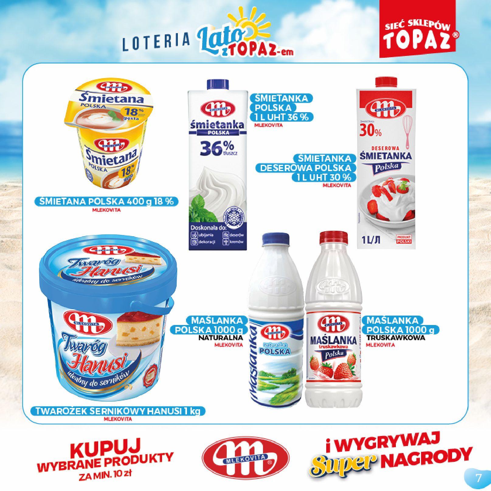 Gazetka TOPAZ: Gazetka TOPAZ - Loteria 2021-07-05 page-7
