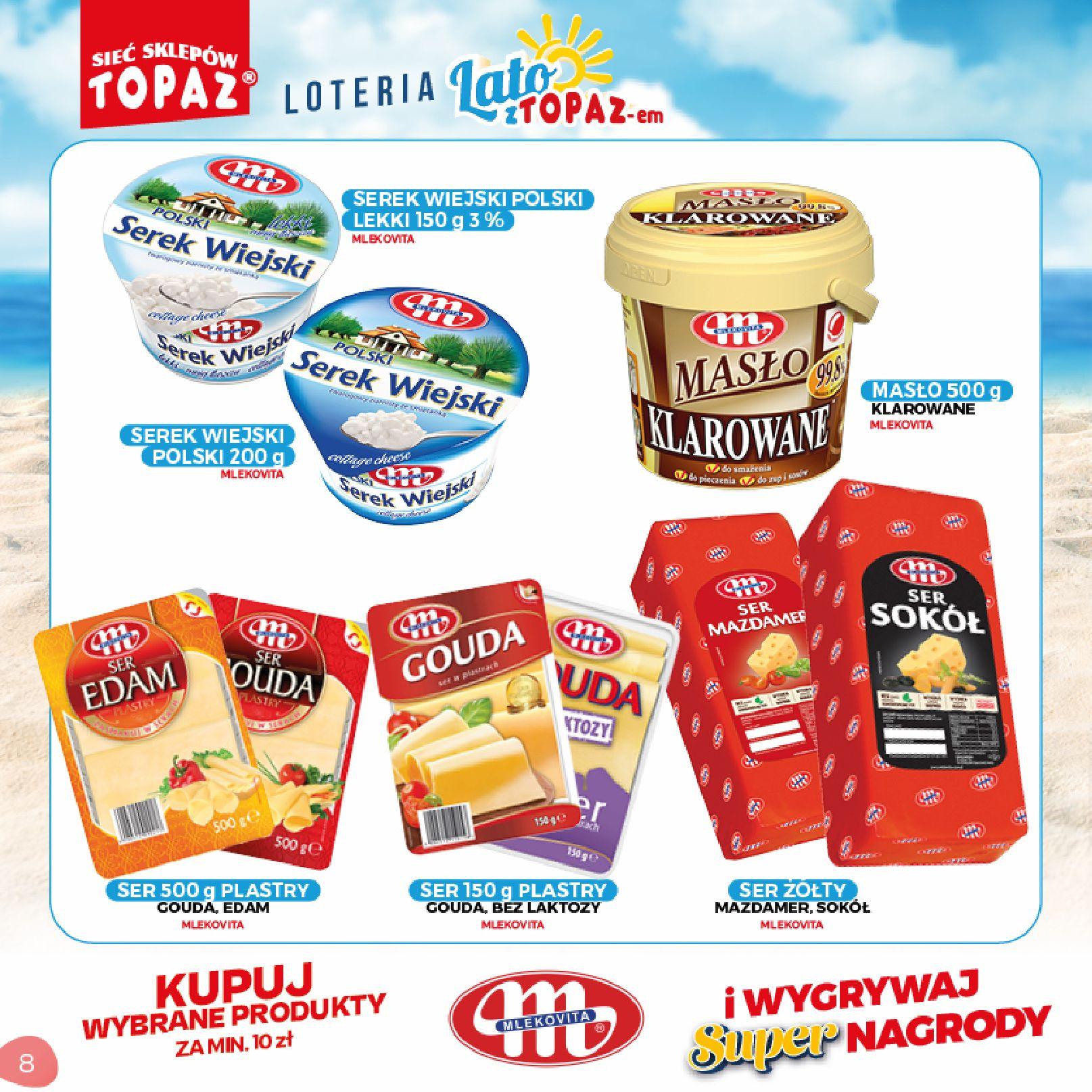 Gazetka TOPAZ: Gazetka TOPAZ - Loteria 2021-07-05 page-8