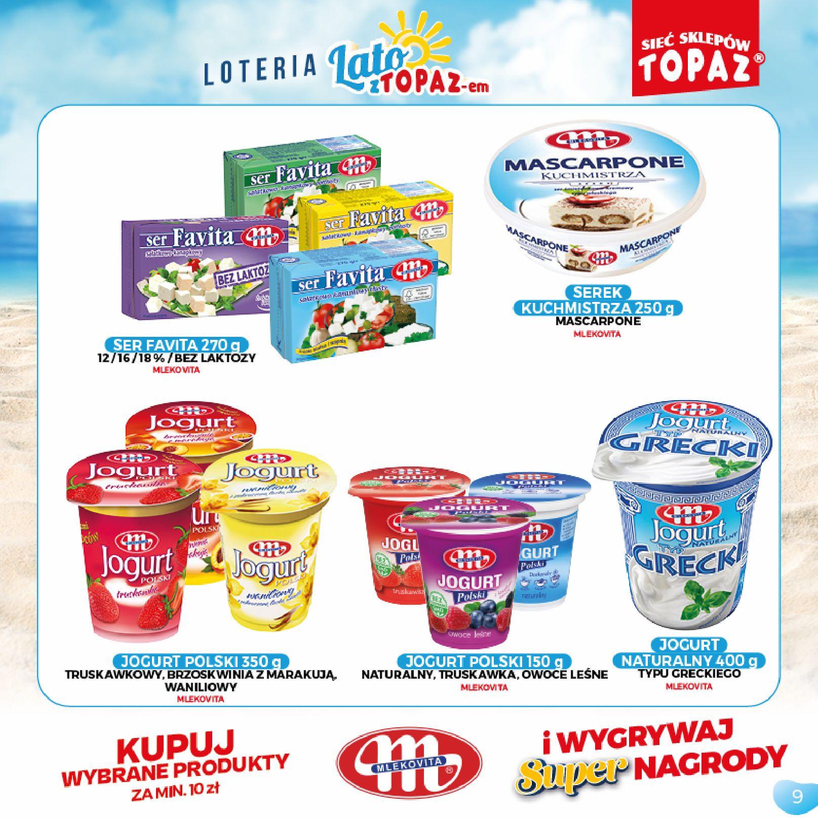Gazetka TOPAZ: Gazetka TOPAZ - Loteria 2021-07-05 page-9