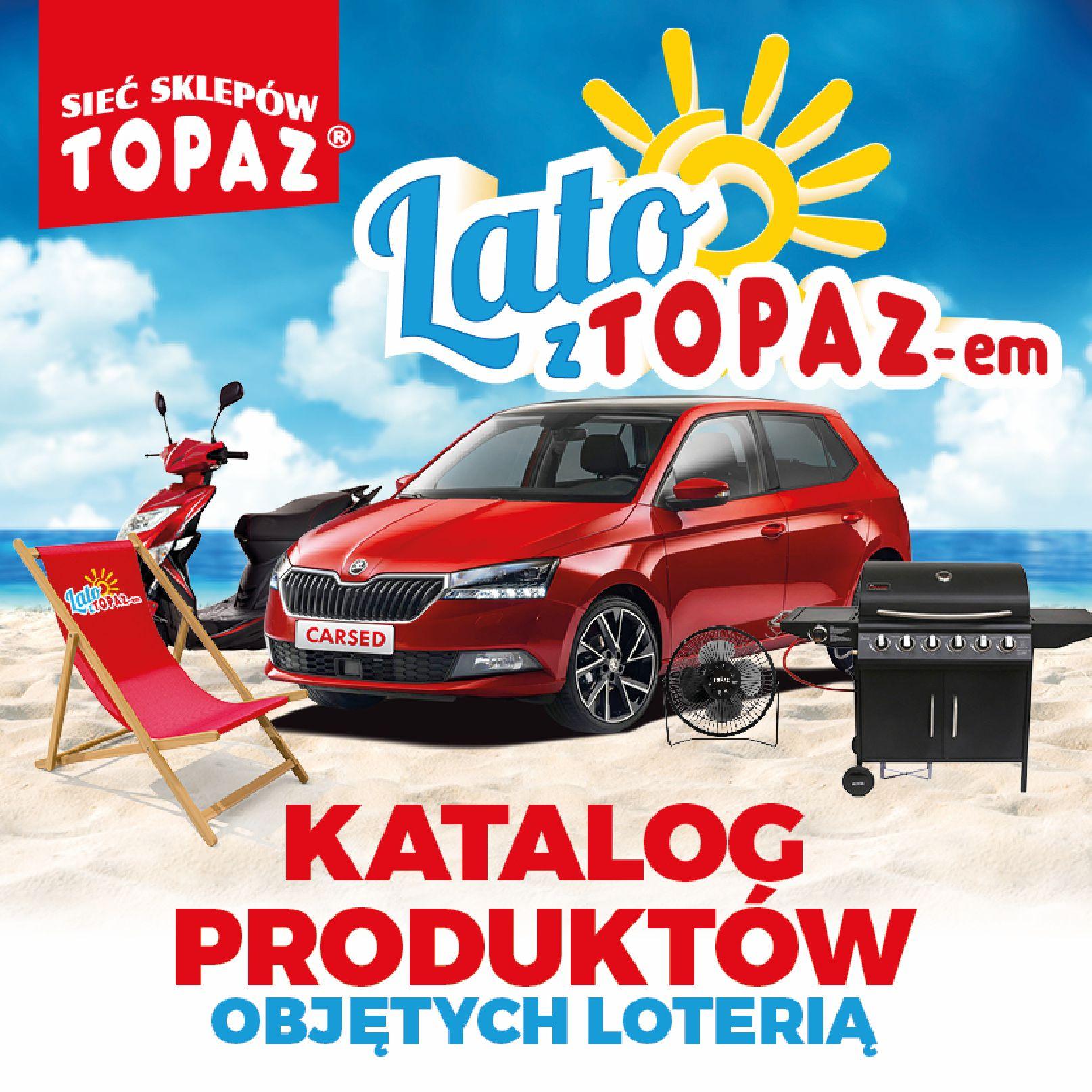 Gazetka TOPAZ: Gazetka TOPAZ - Loteria 2021-07-05 page-1