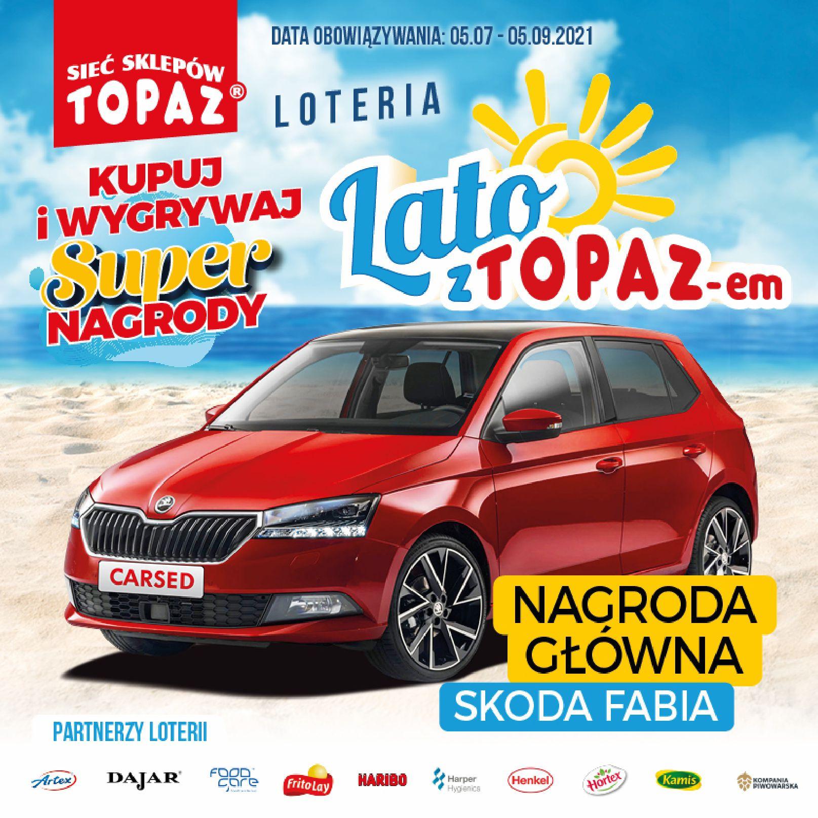 Gazetka TOPAZ: Gazetka TOPAZ - Loteria 2021-07-05 page-2