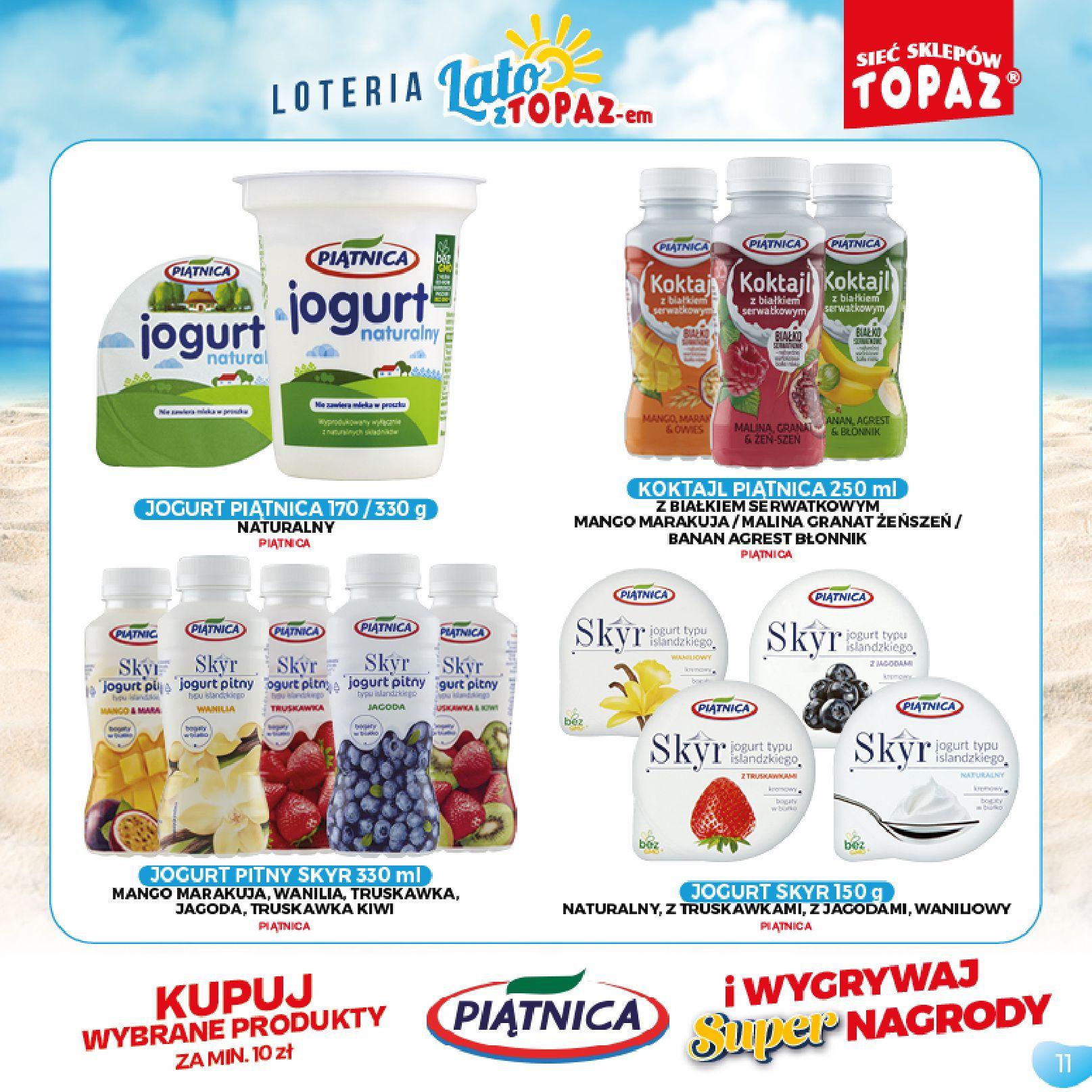 Gazetka TOPAZ: Gazetka TOPAZ - Loteria 2021-07-05 page-11