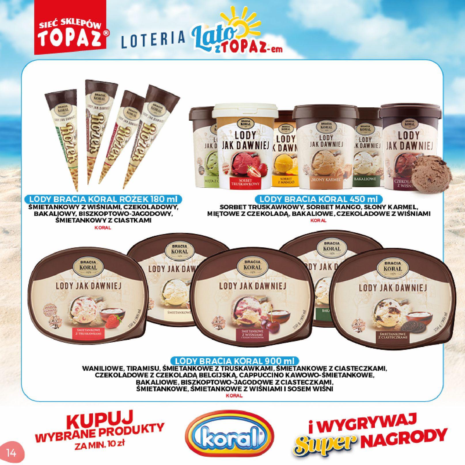 Gazetka TOPAZ: Gazetka TOPAZ - Loteria 2021-07-05 page-14