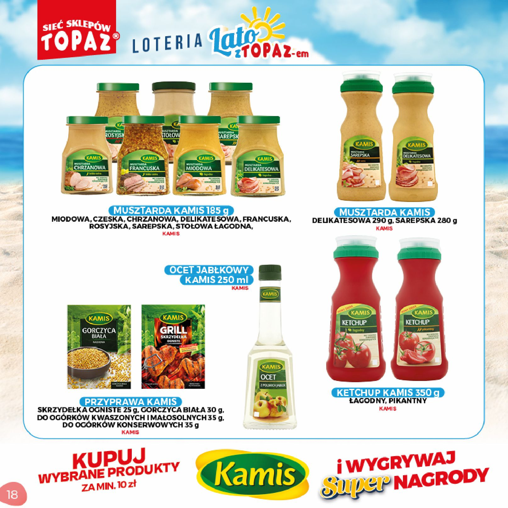 Gazetka TOPAZ: Gazetka TOPAZ - Loteria 2021-07-05 page-18
