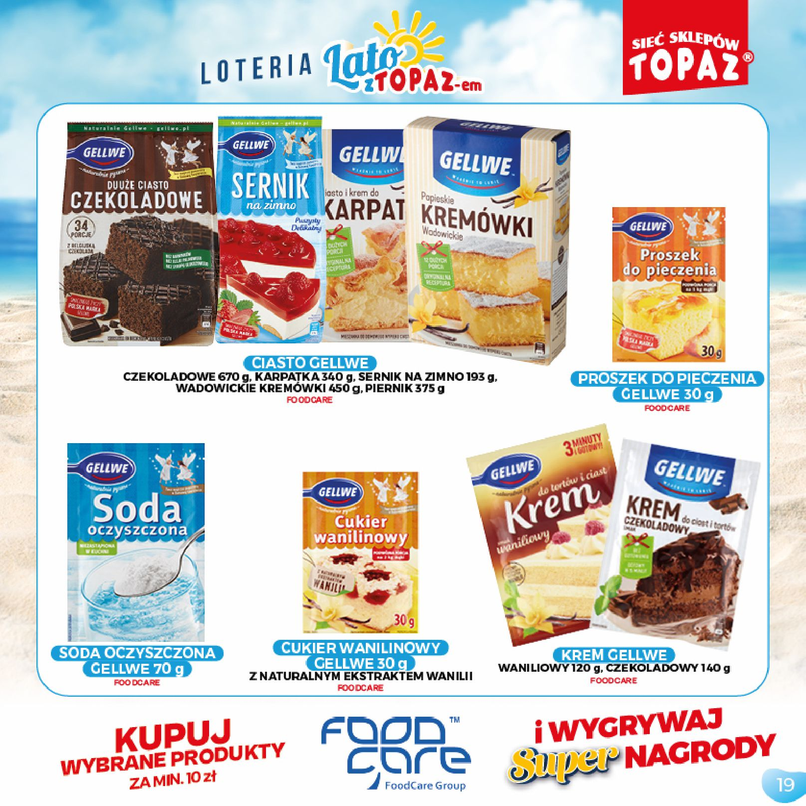 Gazetka TOPAZ: Gazetka TOPAZ - Loteria 2021-07-05 page-19