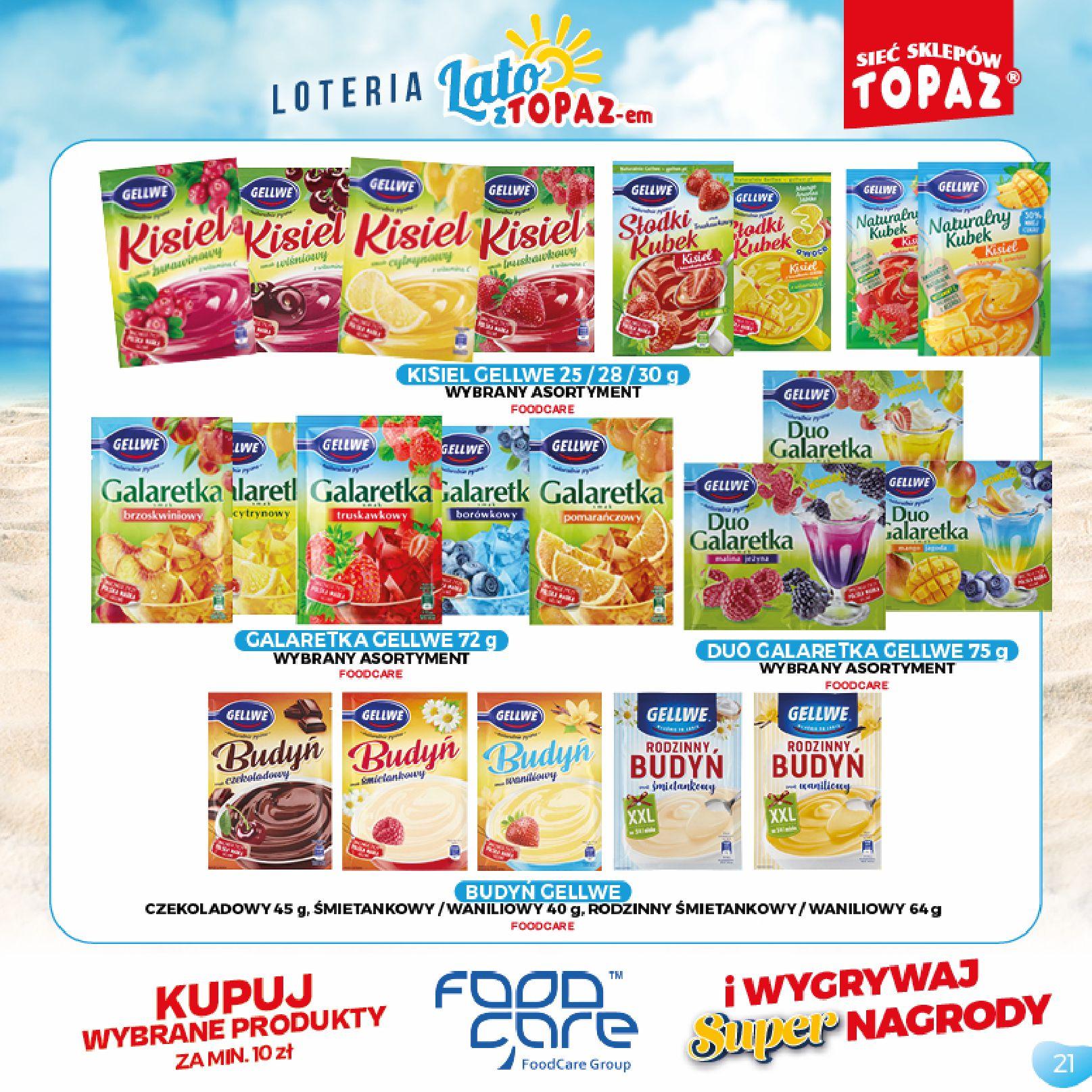 Gazetka TOPAZ: Gazetka TOPAZ - Loteria 2021-07-05 page-21