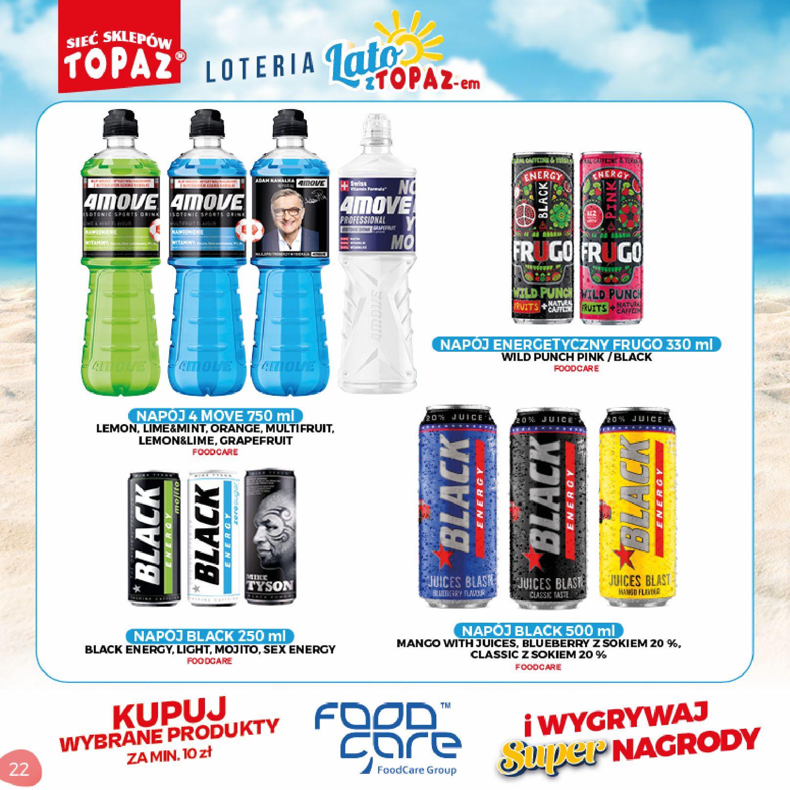 Gazetka TOPAZ: Gazetka TOPAZ - Loteria 2021-07-05 page-22