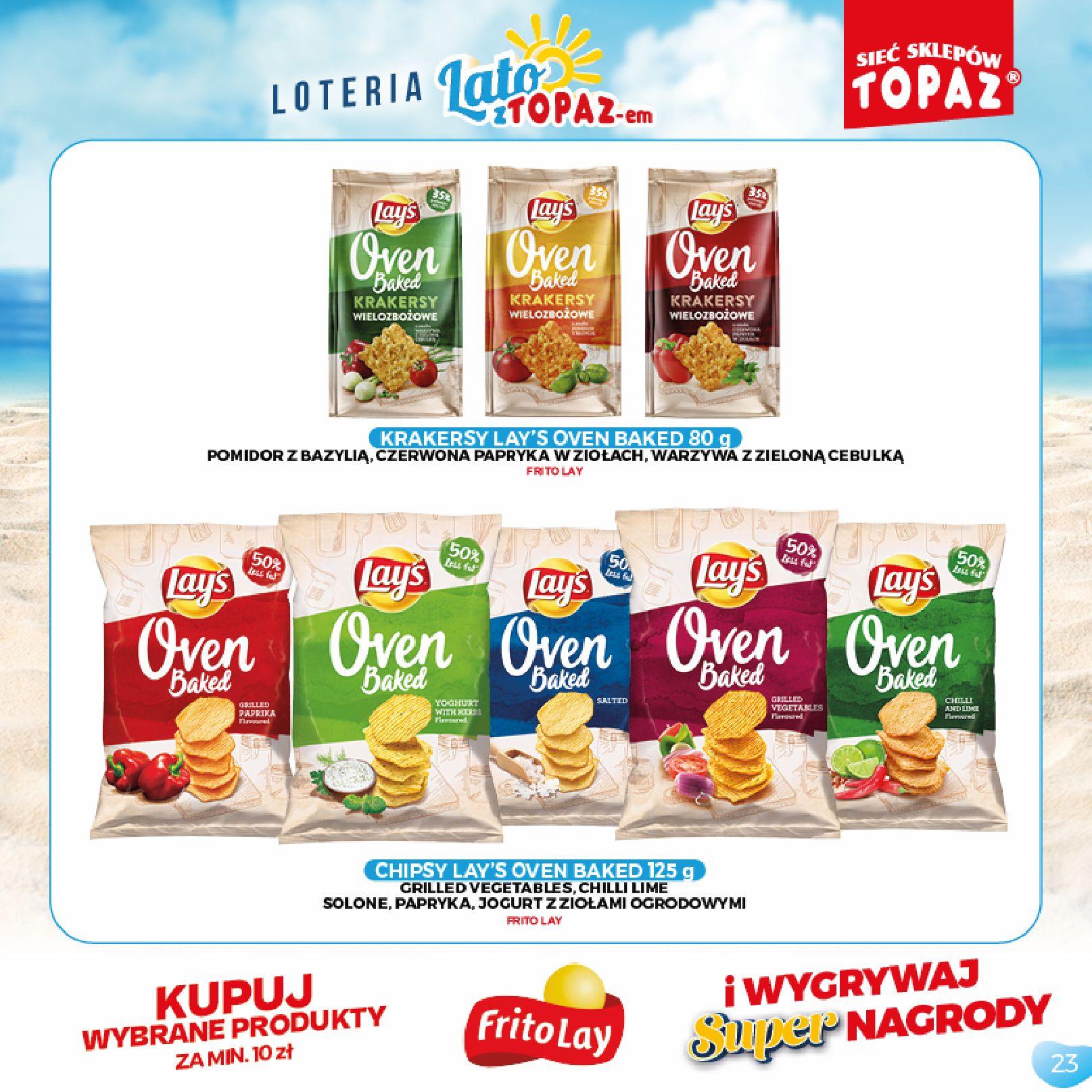 Gazetka TOPAZ: Gazetka TOPAZ - Loteria 2021-07-05 page-23