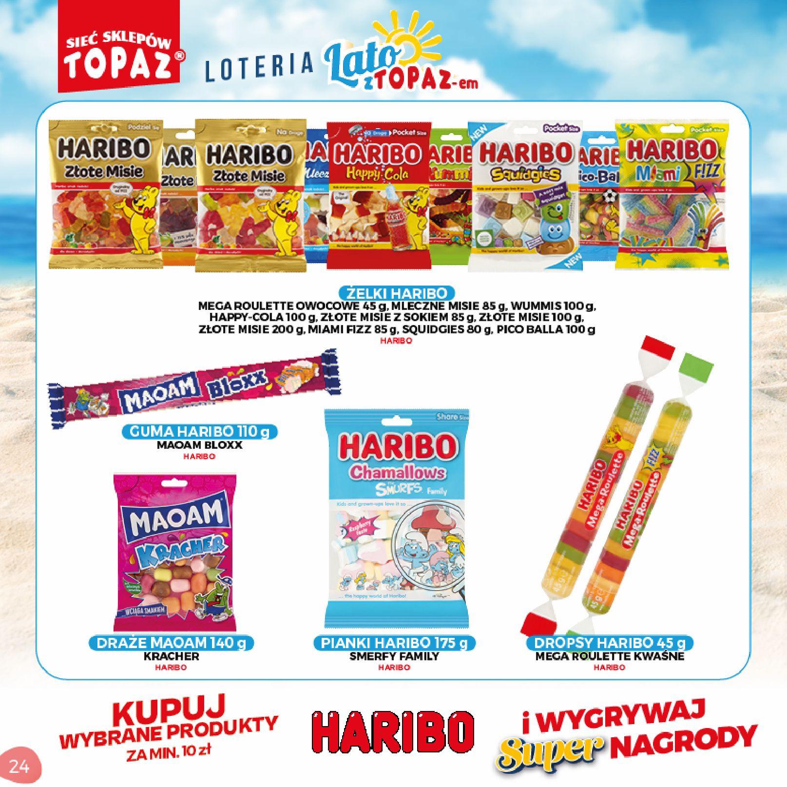 Gazetka TOPAZ: Gazetka TOPAZ - Loteria 2021-07-05 page-24