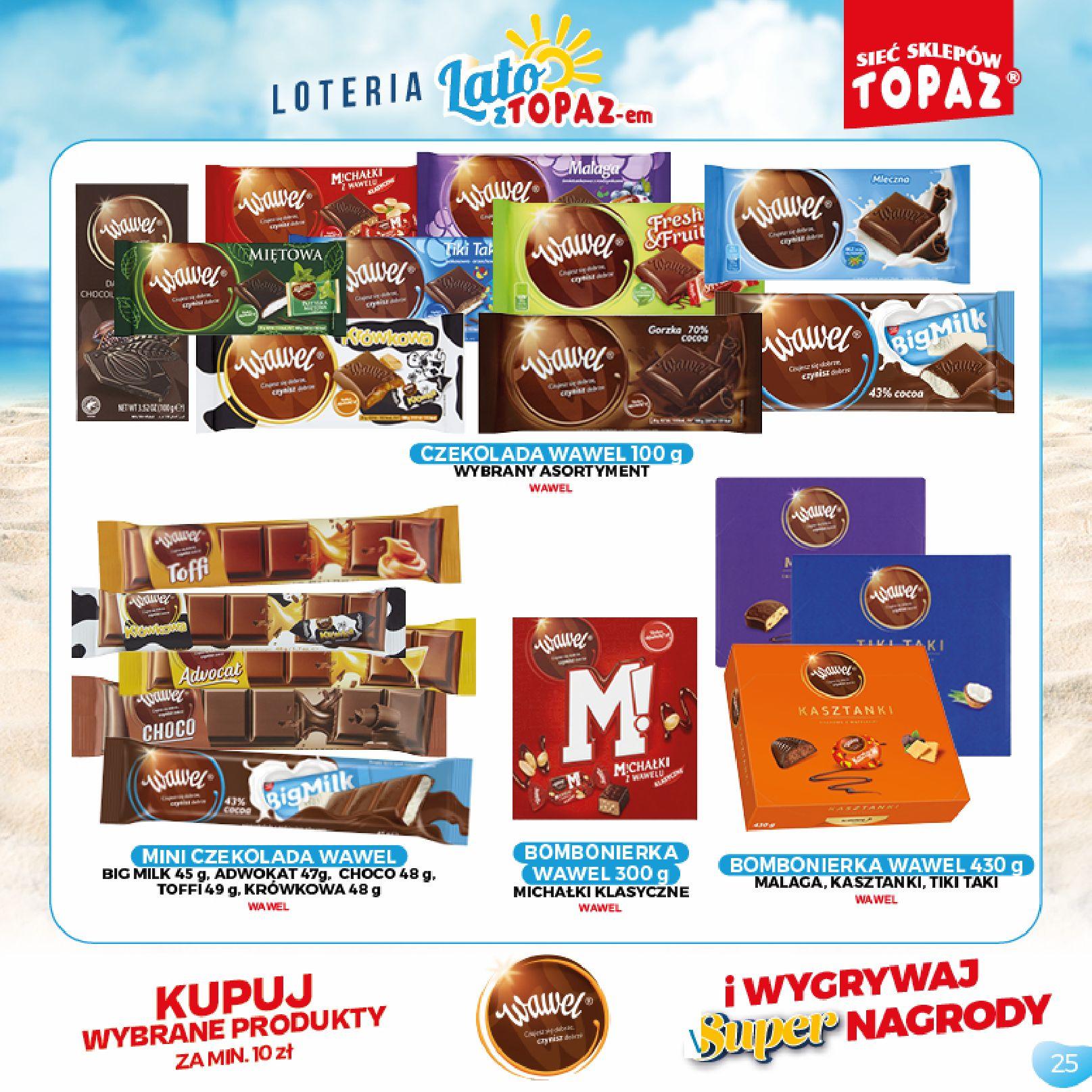Gazetka TOPAZ: Gazetka TOPAZ - Loteria 2021-07-05 page-25