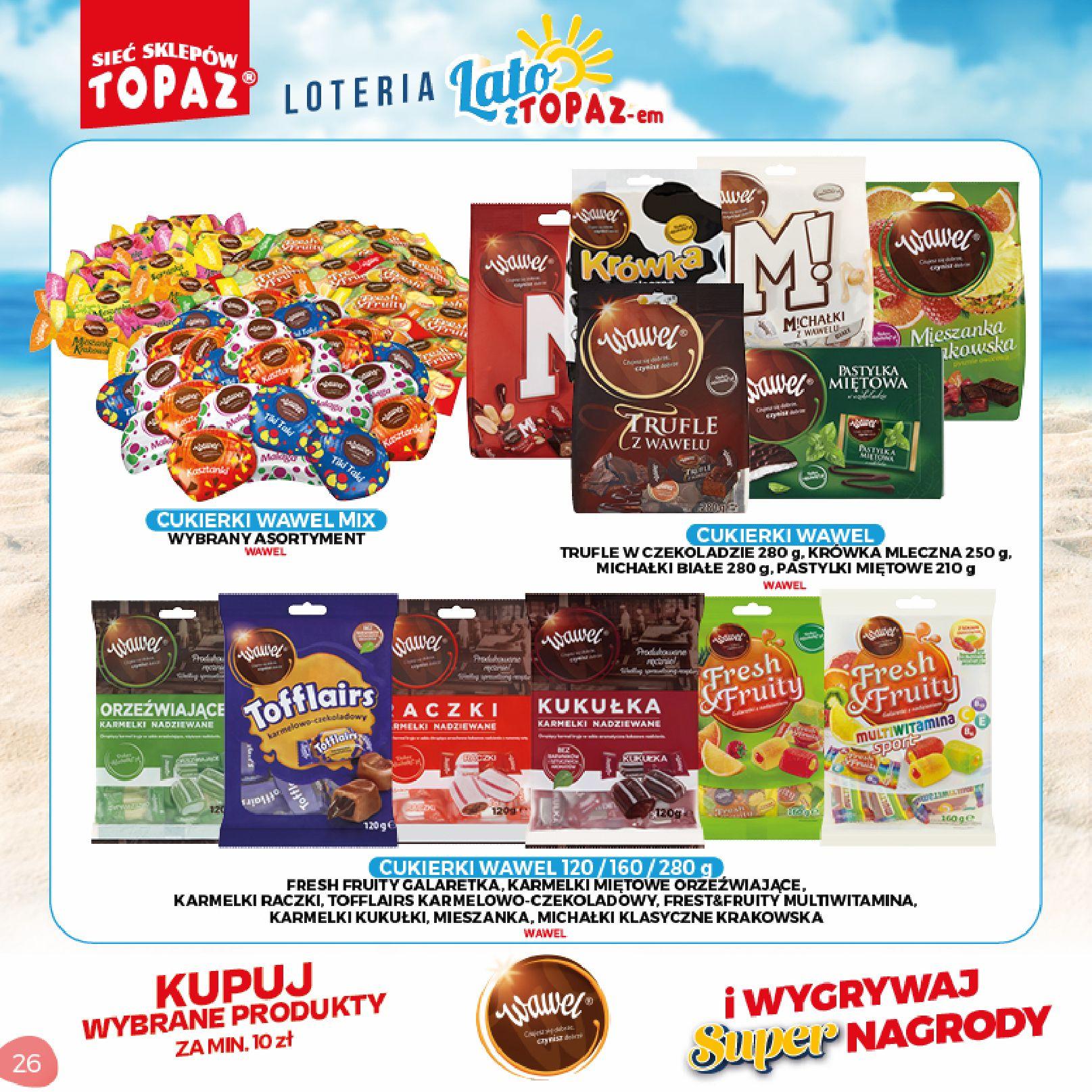 Gazetka TOPAZ: Gazetka TOPAZ - Loteria 2021-07-05 page-26