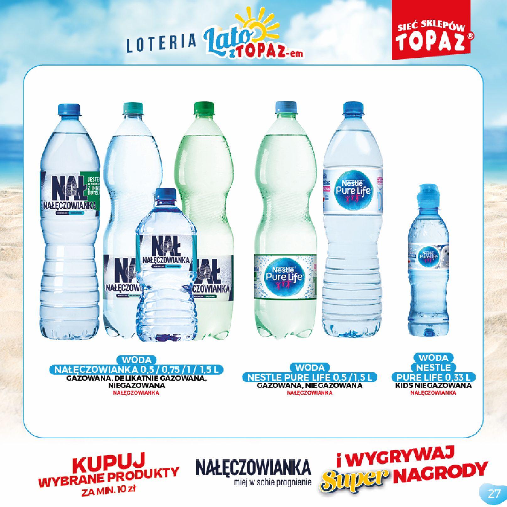 Gazetka TOPAZ: Gazetka TOPAZ - Loteria 2021-07-05 page-27