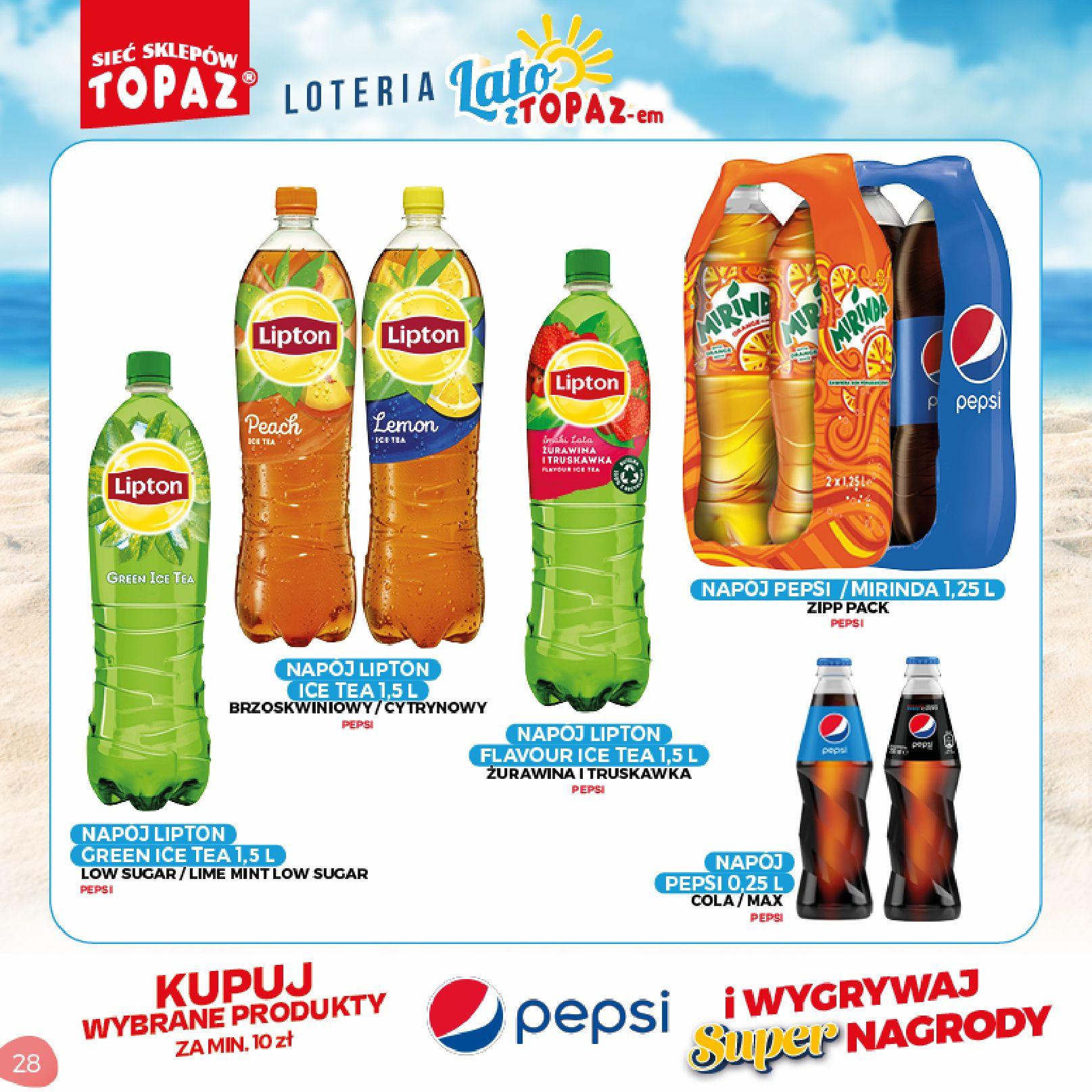 Gazetka TOPAZ: Gazetka TOPAZ - Loteria 2021-07-05 page-28