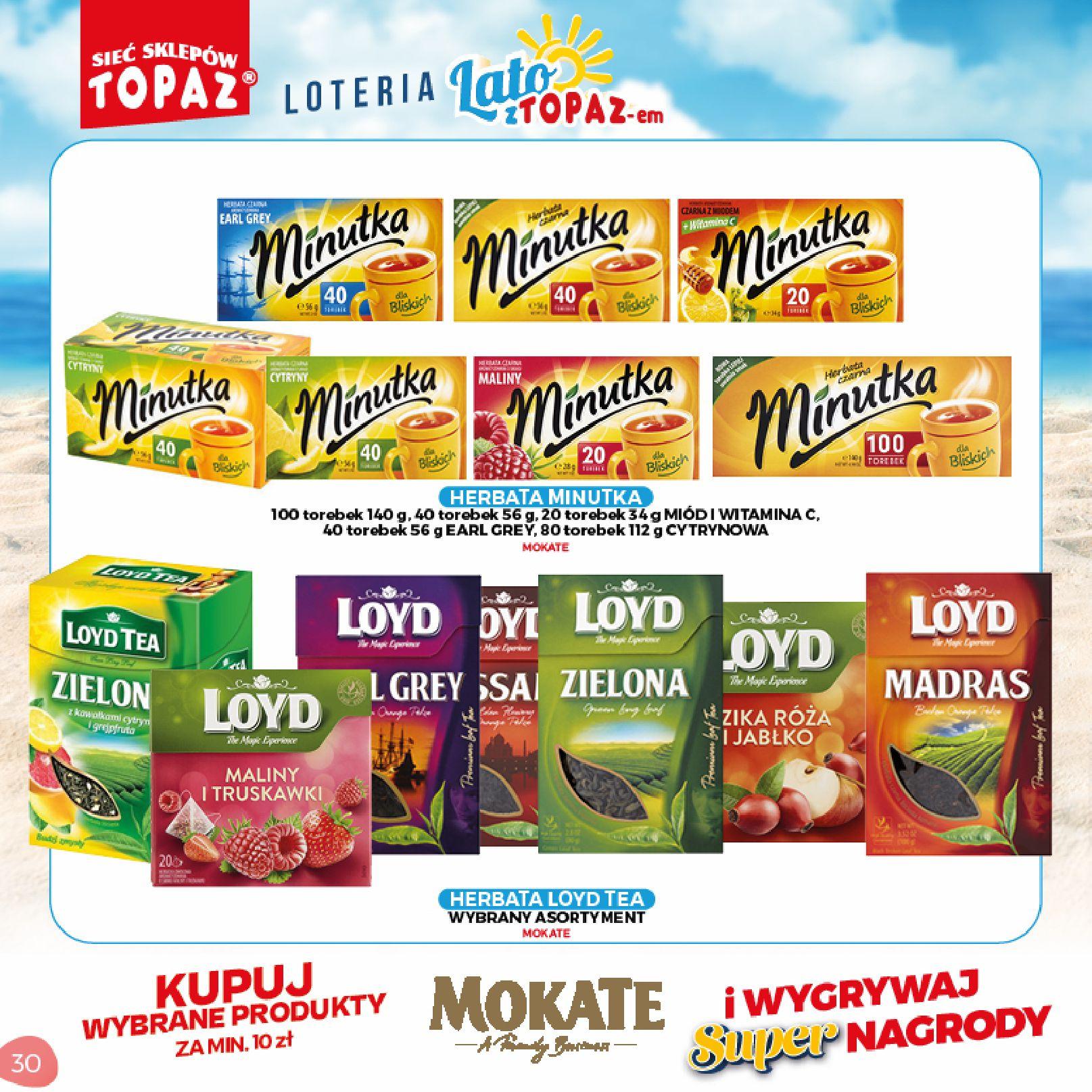 Gazetka TOPAZ: Gazetka TOPAZ - Loteria 2021-07-05 page-30