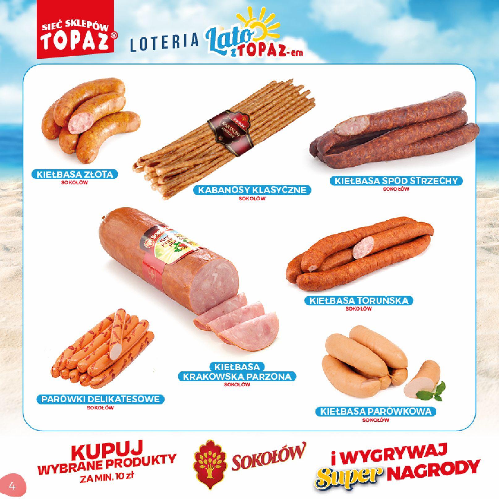 Gazetka TOPAZ: Gazetka TOPAZ - Loteria 2021-07-05 page-4