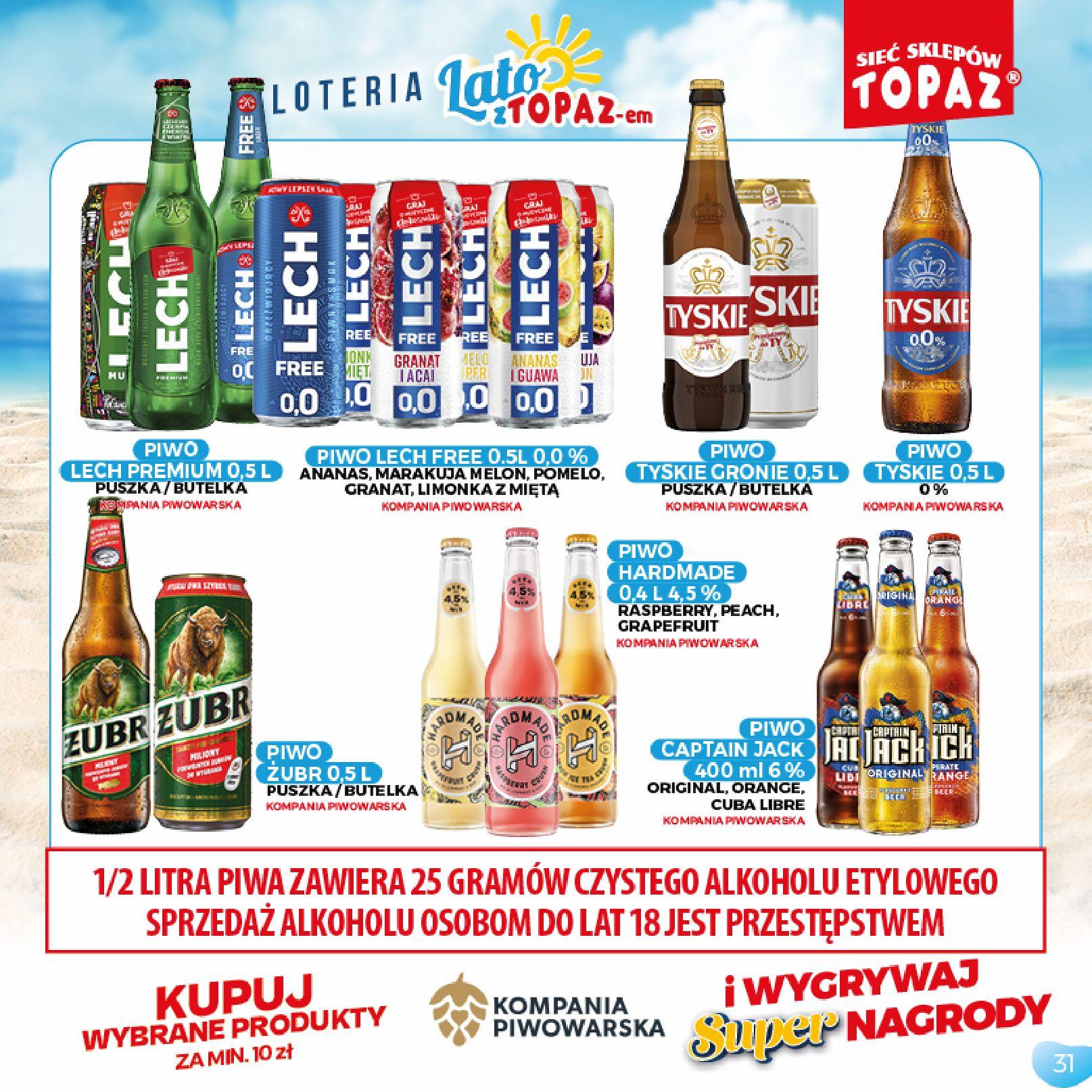 Gazetka TOPAZ: Gazetka TOPAZ - Loteria 2021-07-05 page-31