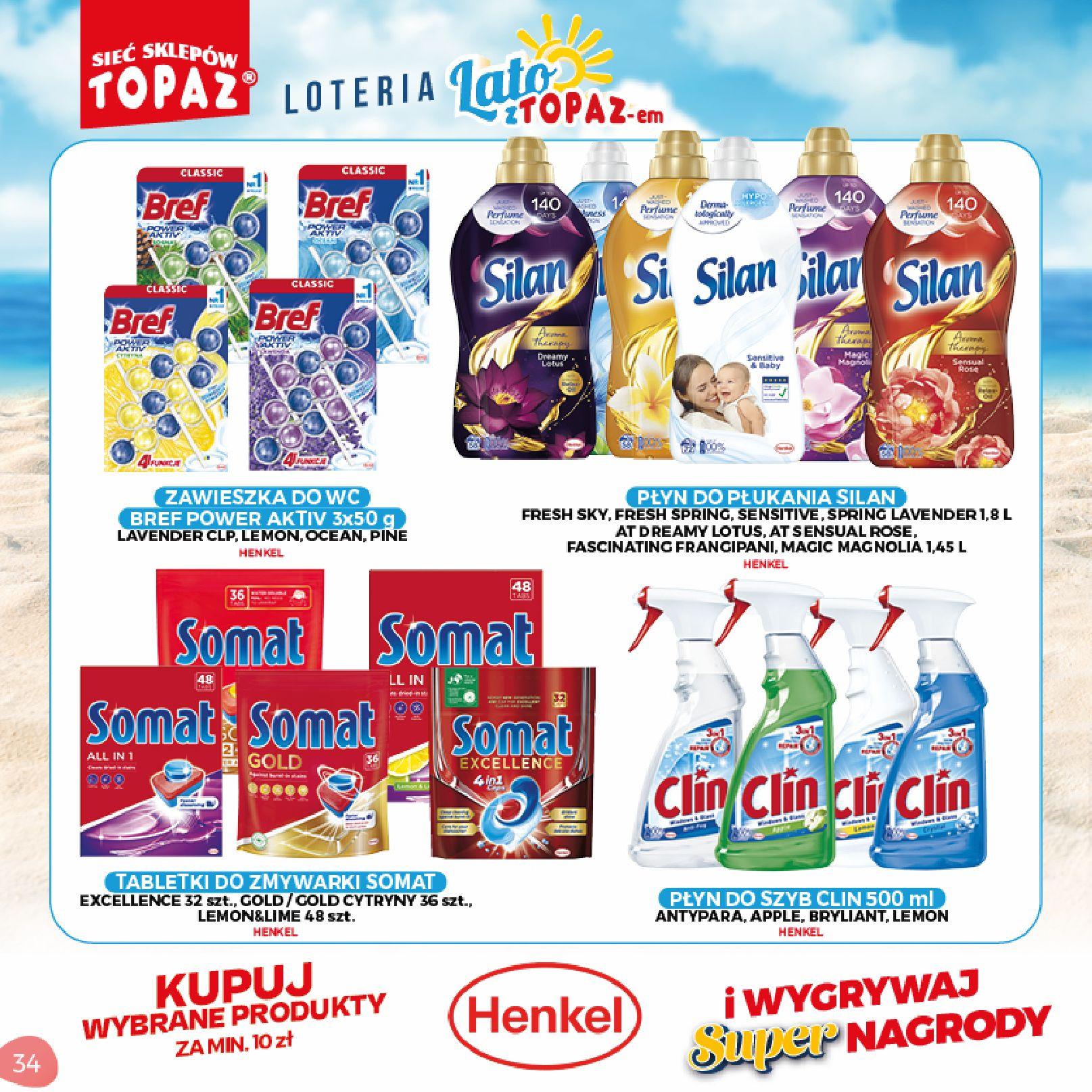 Gazetka TOPAZ: Gazetka TOPAZ - Loteria 2021-07-05 page-34