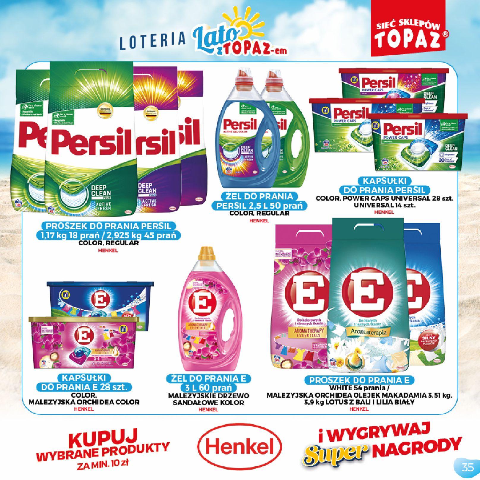 Gazetka TOPAZ: Gazetka TOPAZ - Loteria 2021-07-05 page-35