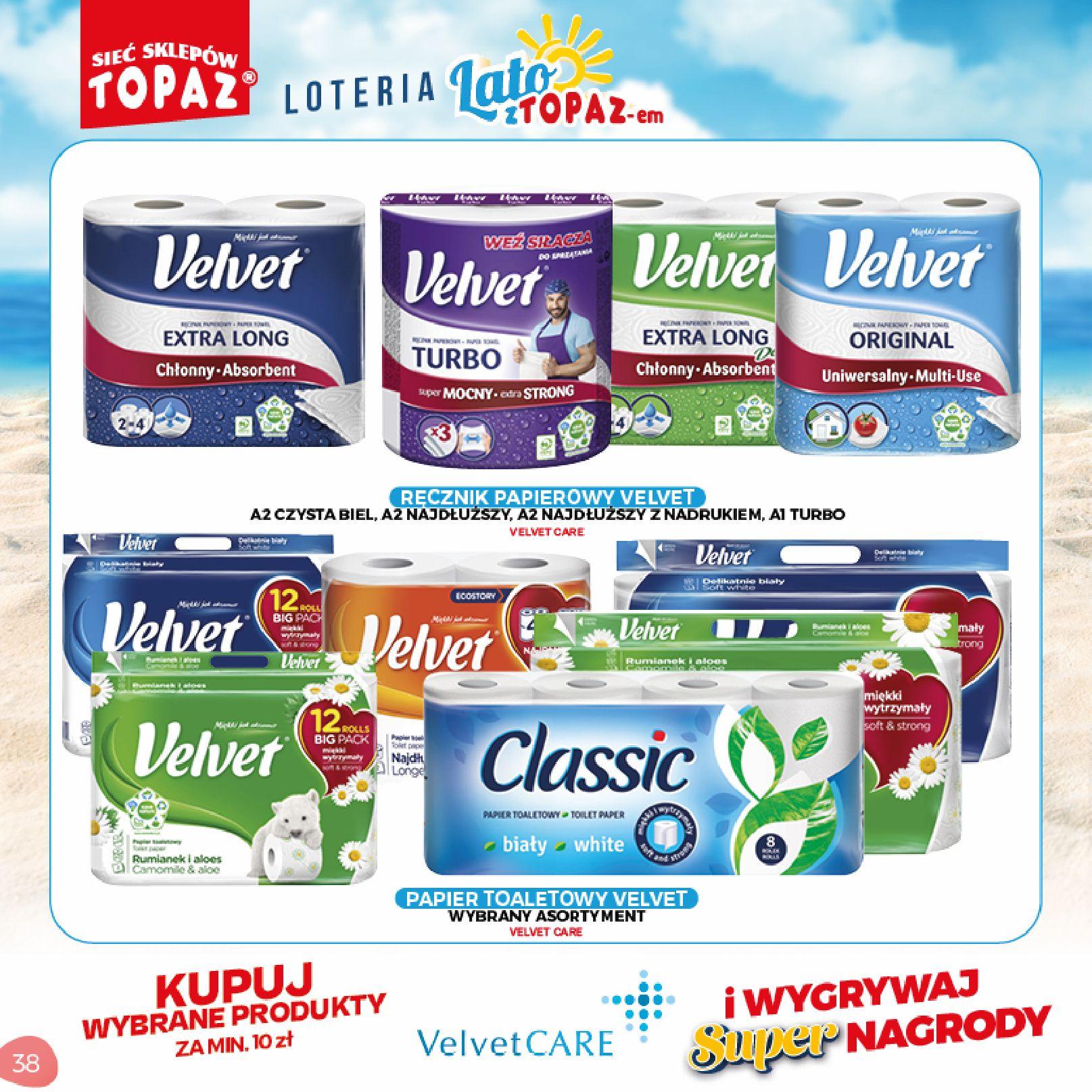 Gazetka TOPAZ: Gazetka TOPAZ - Loteria 2021-07-05 page-38