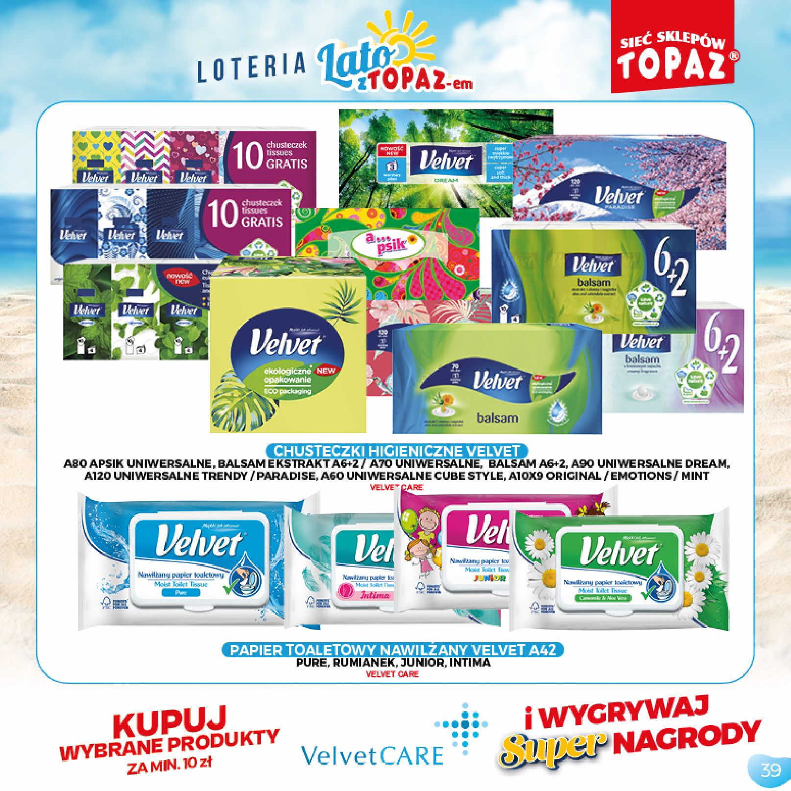 Gazetka TOPAZ: Gazetka TOPAZ - Loteria 2021-07-05 page-39