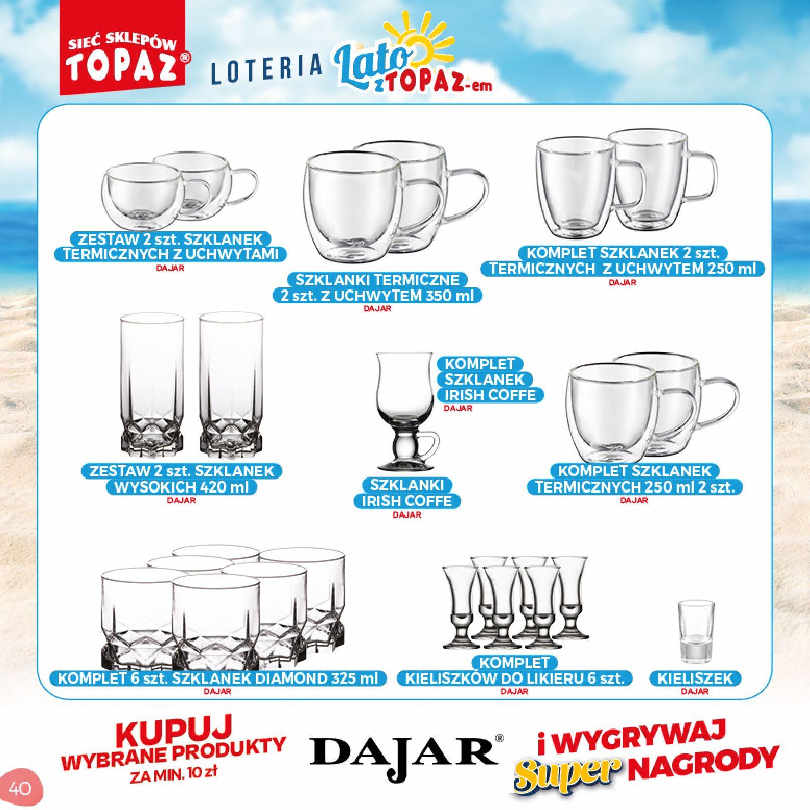 Gazetka TOPAZ: Gazetka TOPAZ - Loteria 2021-07-05 page-40