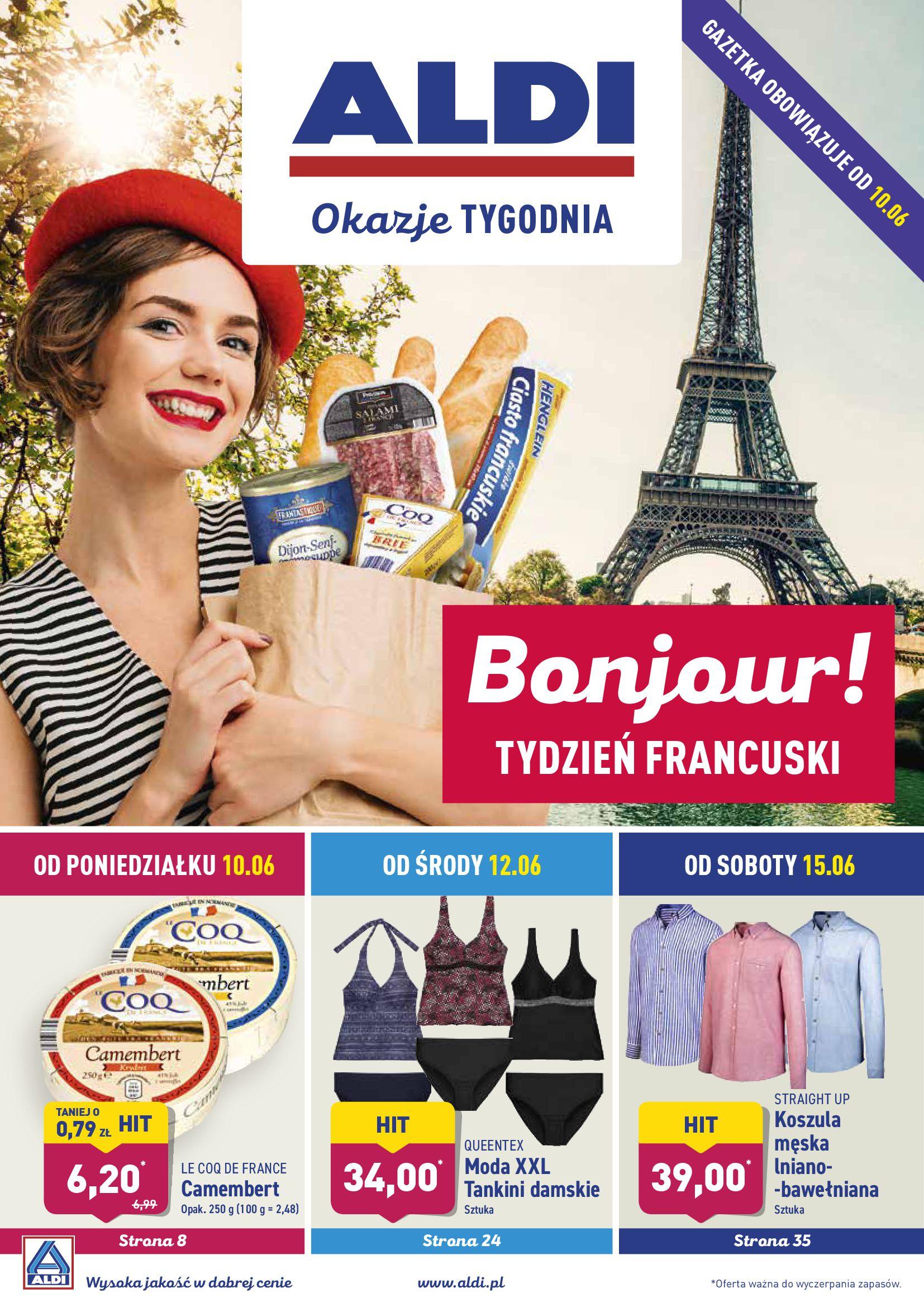 Gazetka Aldi - Bonjour TYDZIEŃ FRANCUSKI-09.06.2019-15.06.2019-page-