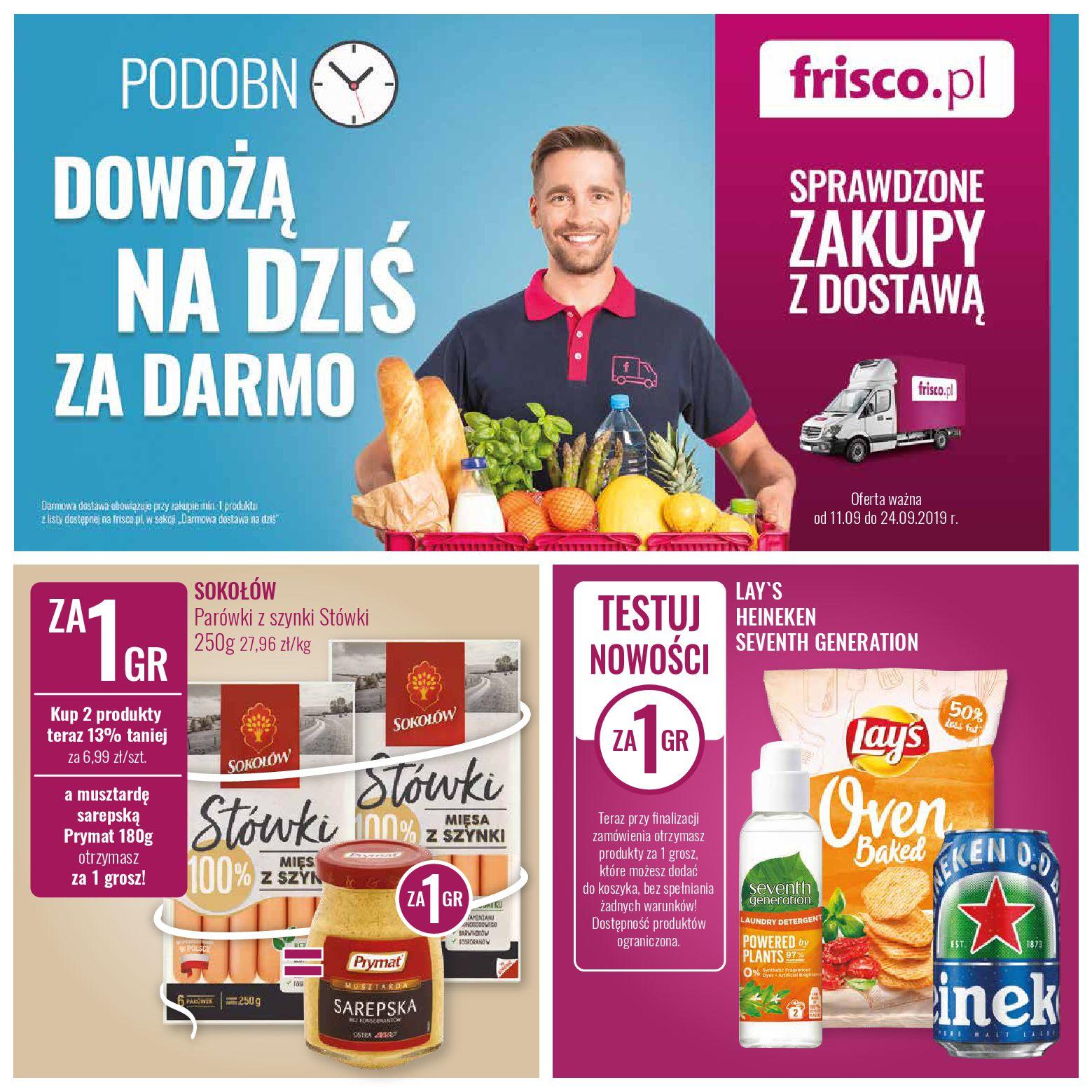 Gazetka Frisco - Oferta promocyjna-10.09.2019-24.09.2019-page-1