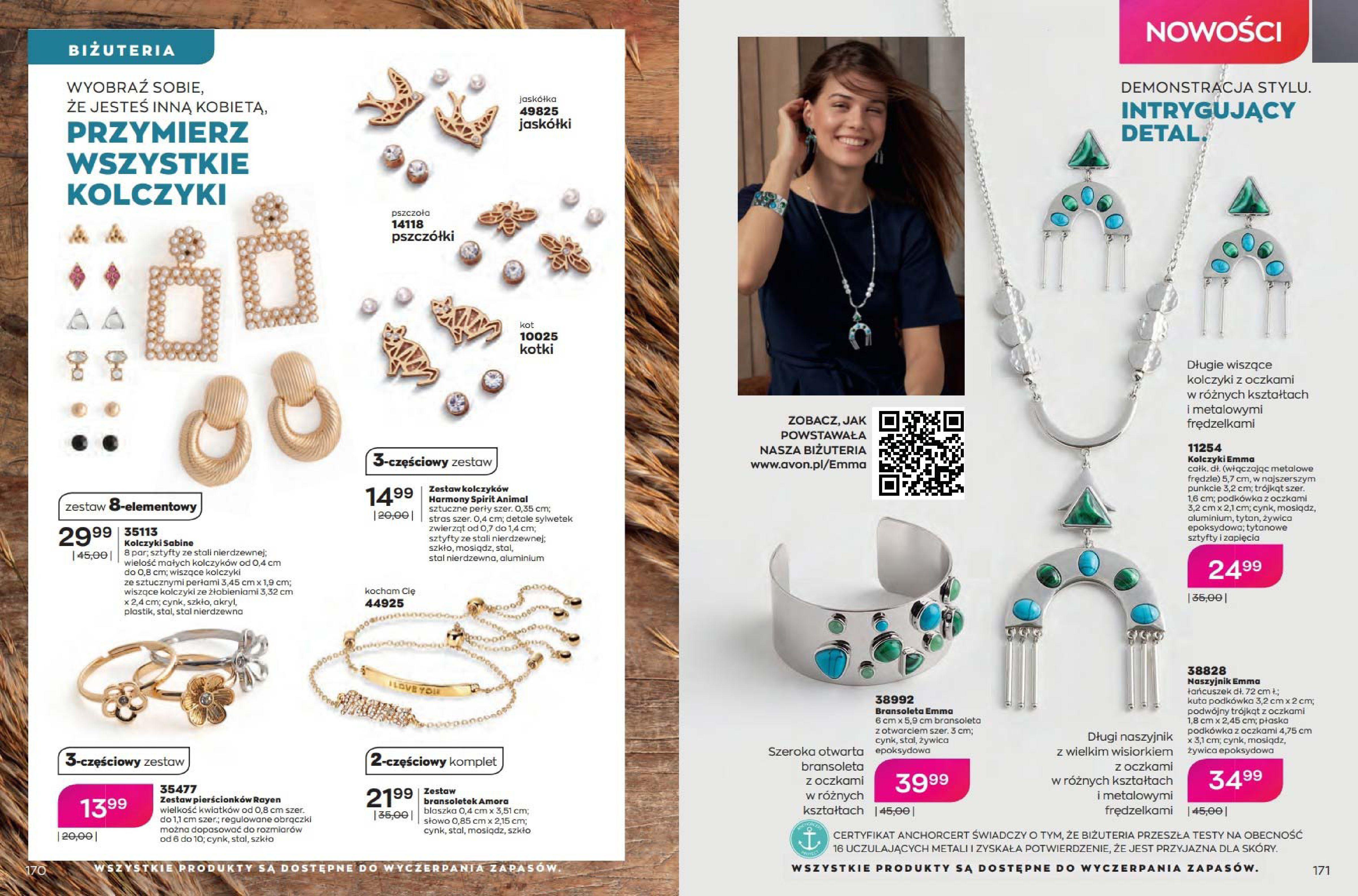Gazetka Avon: Katalog Avon - Wrzesień/Październik 2021-08-17 page-86
