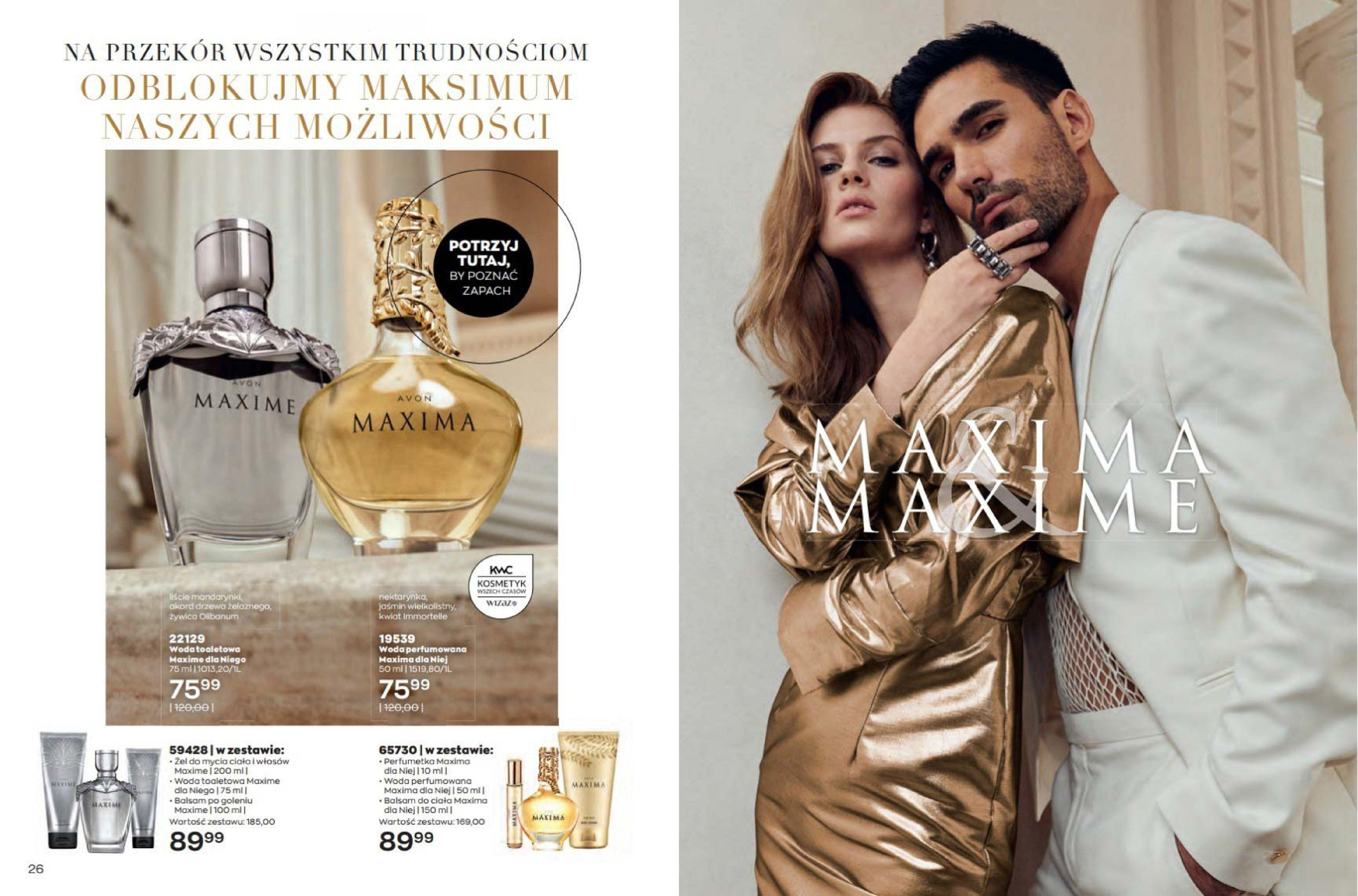 Gazetka Avon: Katalog Avon - Wrzesień/Październik 2021-08-17 page-14
