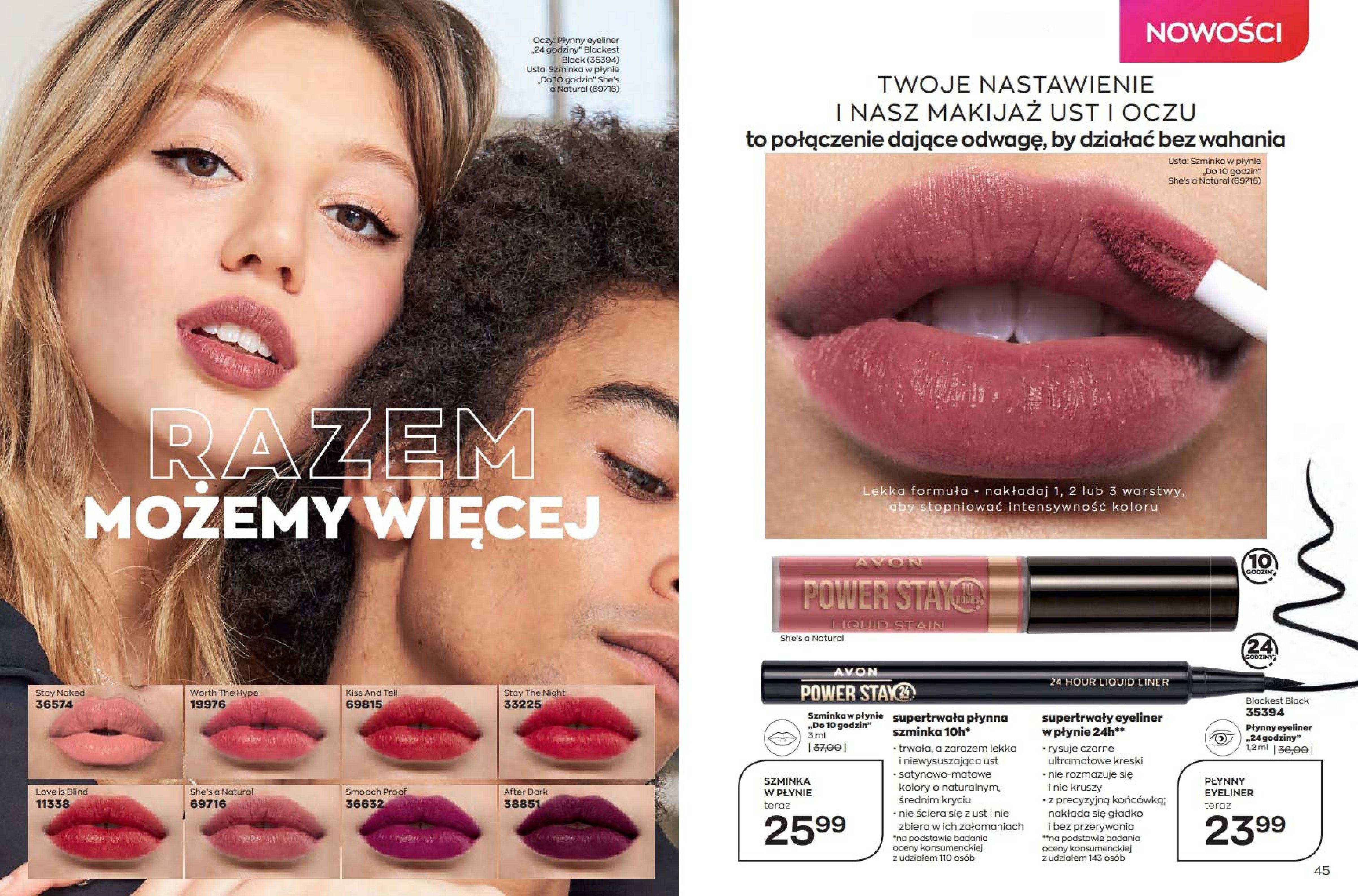 Gazetka Avon: Katalog Avon - Wrzesień/Październik 2021-08-17 page-23
