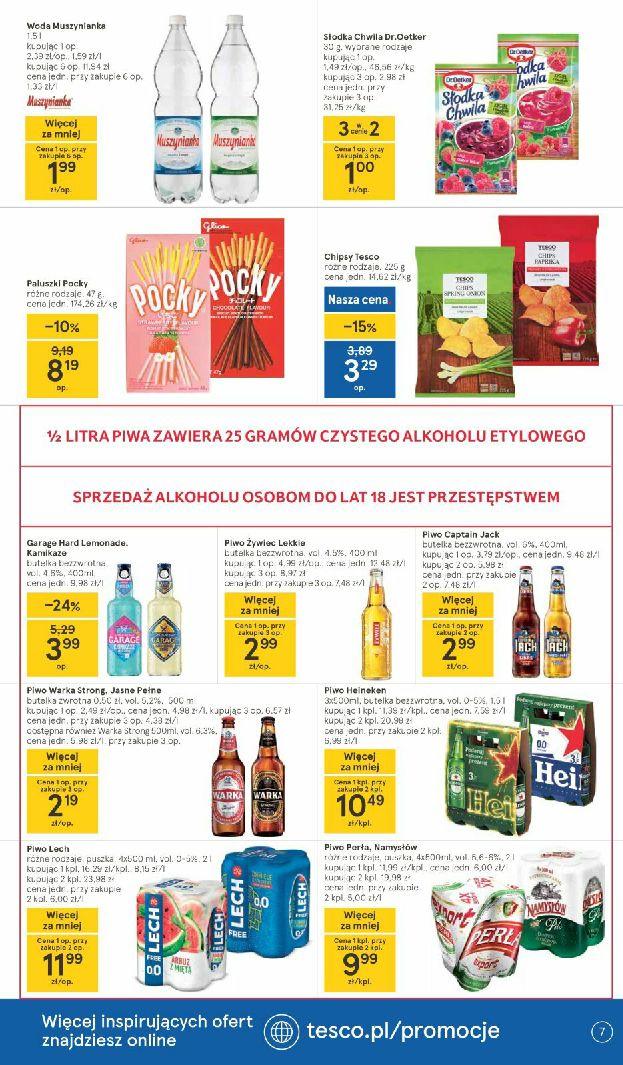 Gazetka Tesco: Gazetka promocyjna od 06.05 2021-05-06 page-7