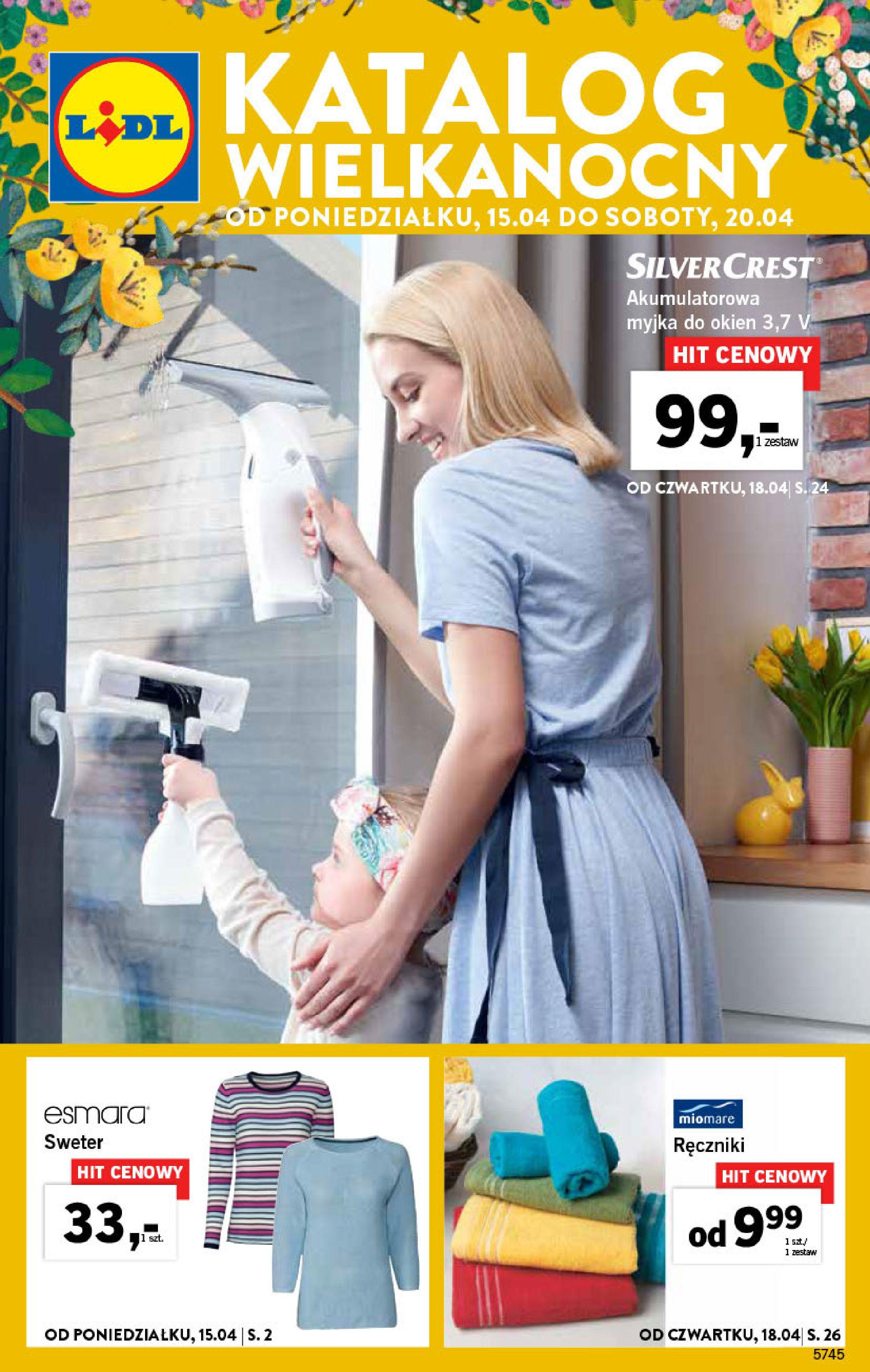 Gazetka Lidl - Katalog Wielkanocny-14.04.2019-20.04.2019-page-