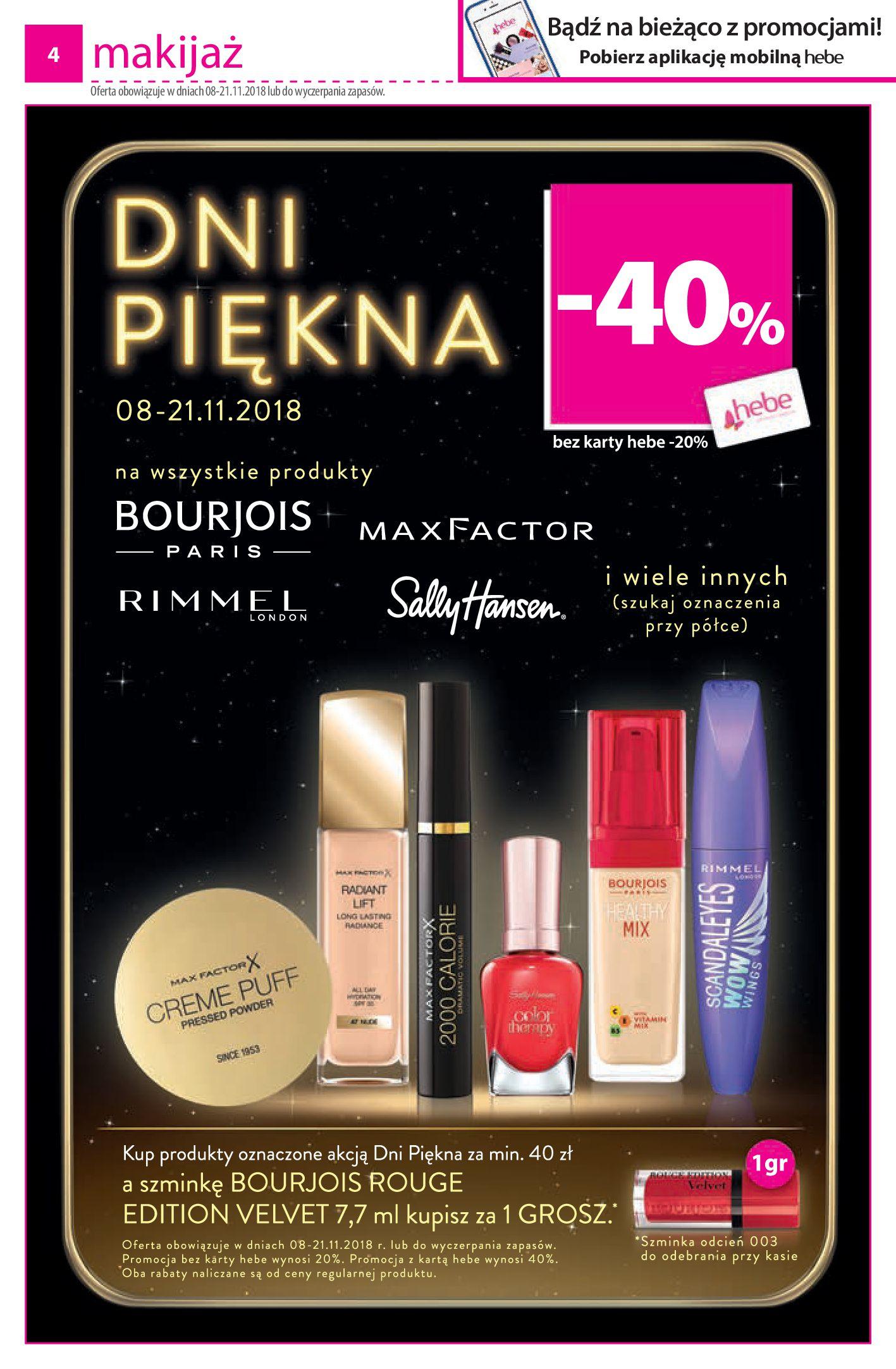 Gazetka hebe - Oferta na kosmetyki-06.11.2018-17.11.2018-page-