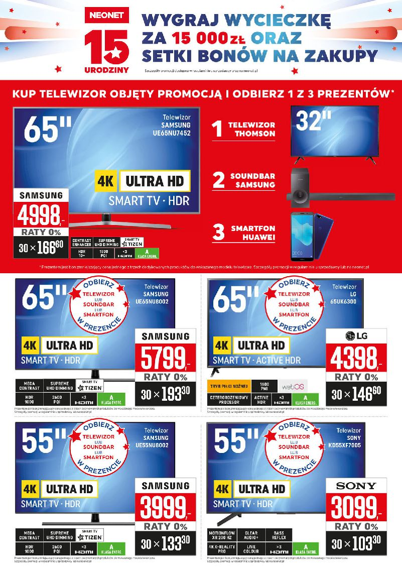 Gazetka Neonet - Oferta na art. RTV, AGD i elektronikę-06.11.2018-21.11.2018-page-