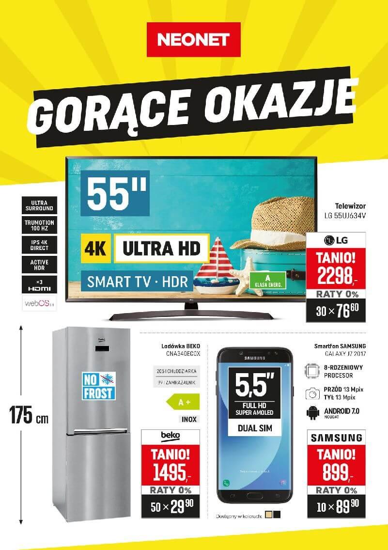 Gazetka Neonet - Oferta na telewizory, elektronikę i sprzęt AGD-01.08.2018-15.08.2018-page-
