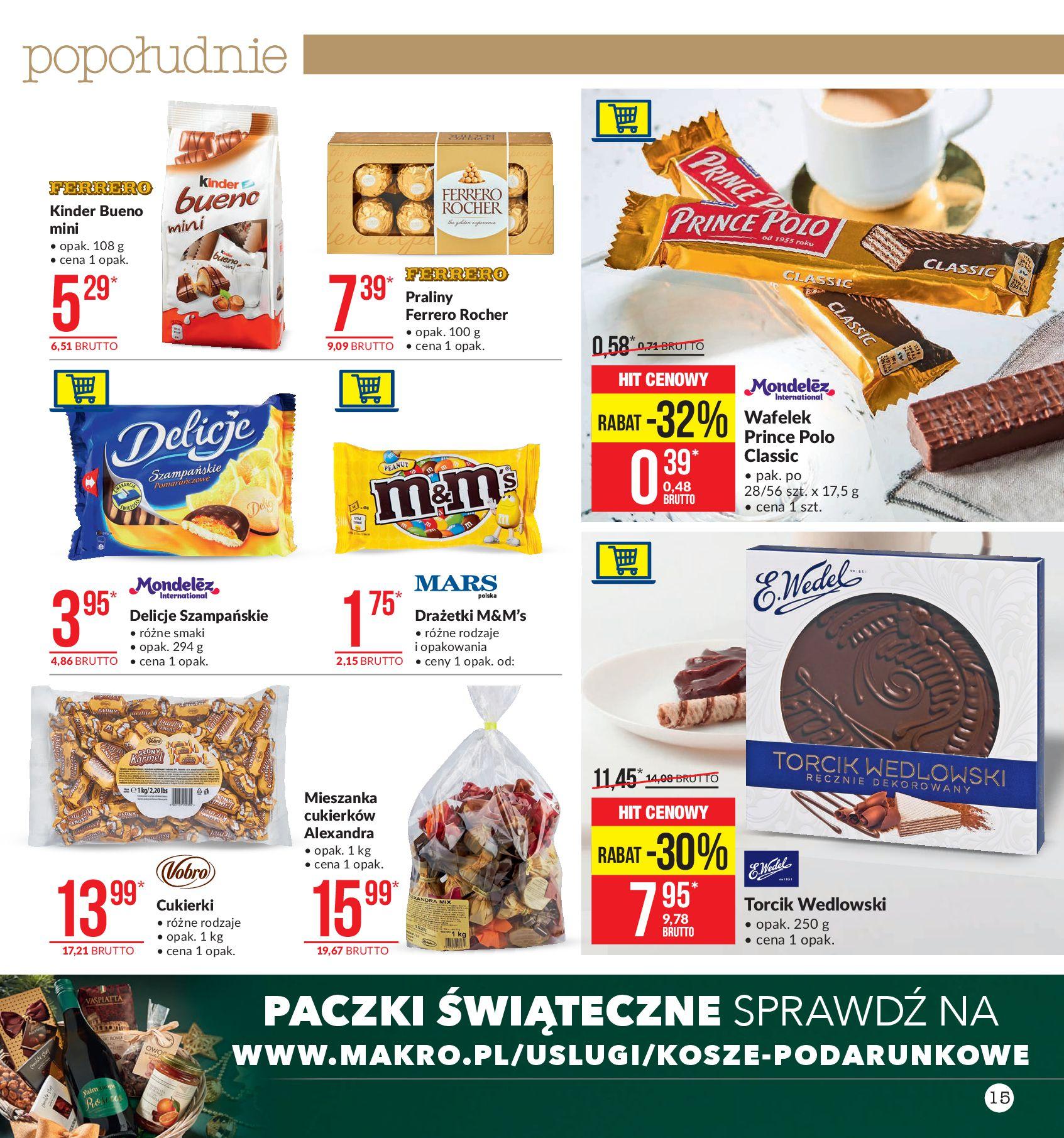 Gazetka Makro - Artykuły spożywcze-07.10.2019-21.10.2019-page-15