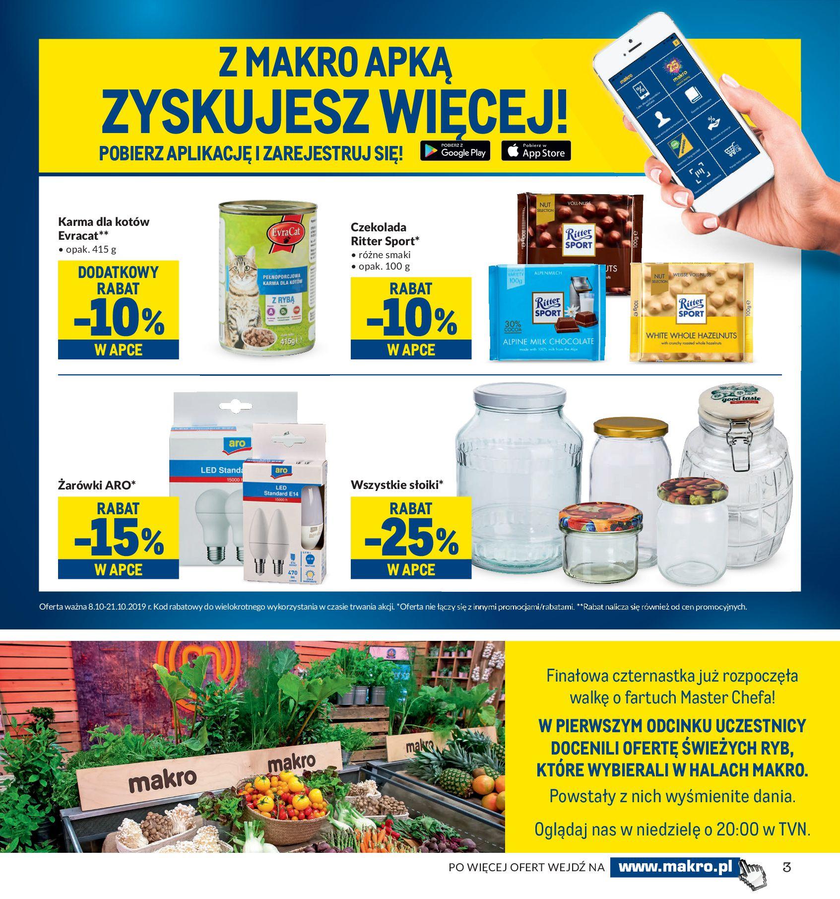 Gazetka Makro - Artykuły spożywcze-07.10.2019-21.10.2019-page-3