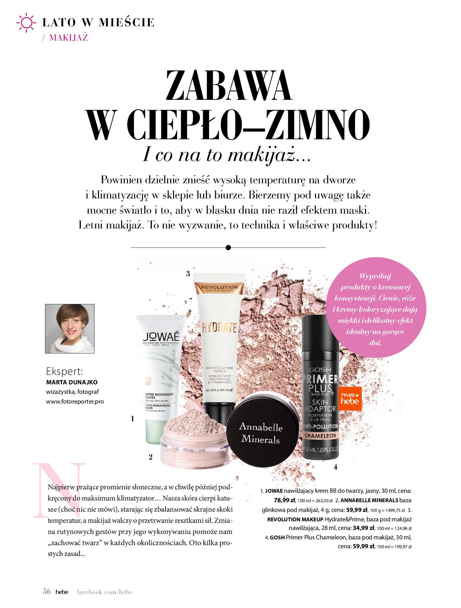 Gazetka hebe - Magazyn Hebe-30.06.2020-31.08.2020-page-56
