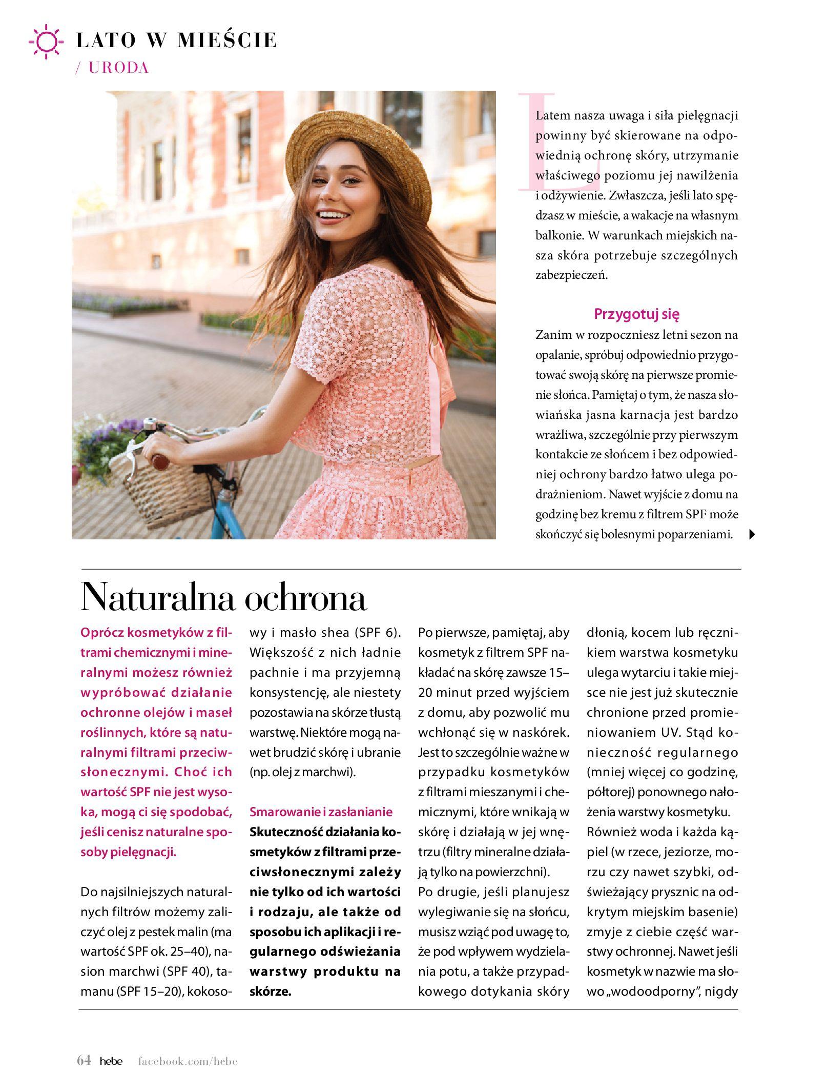 Gazetka hebe - Magazyn Hebe-30.06.2020-31.08.2020-page-64