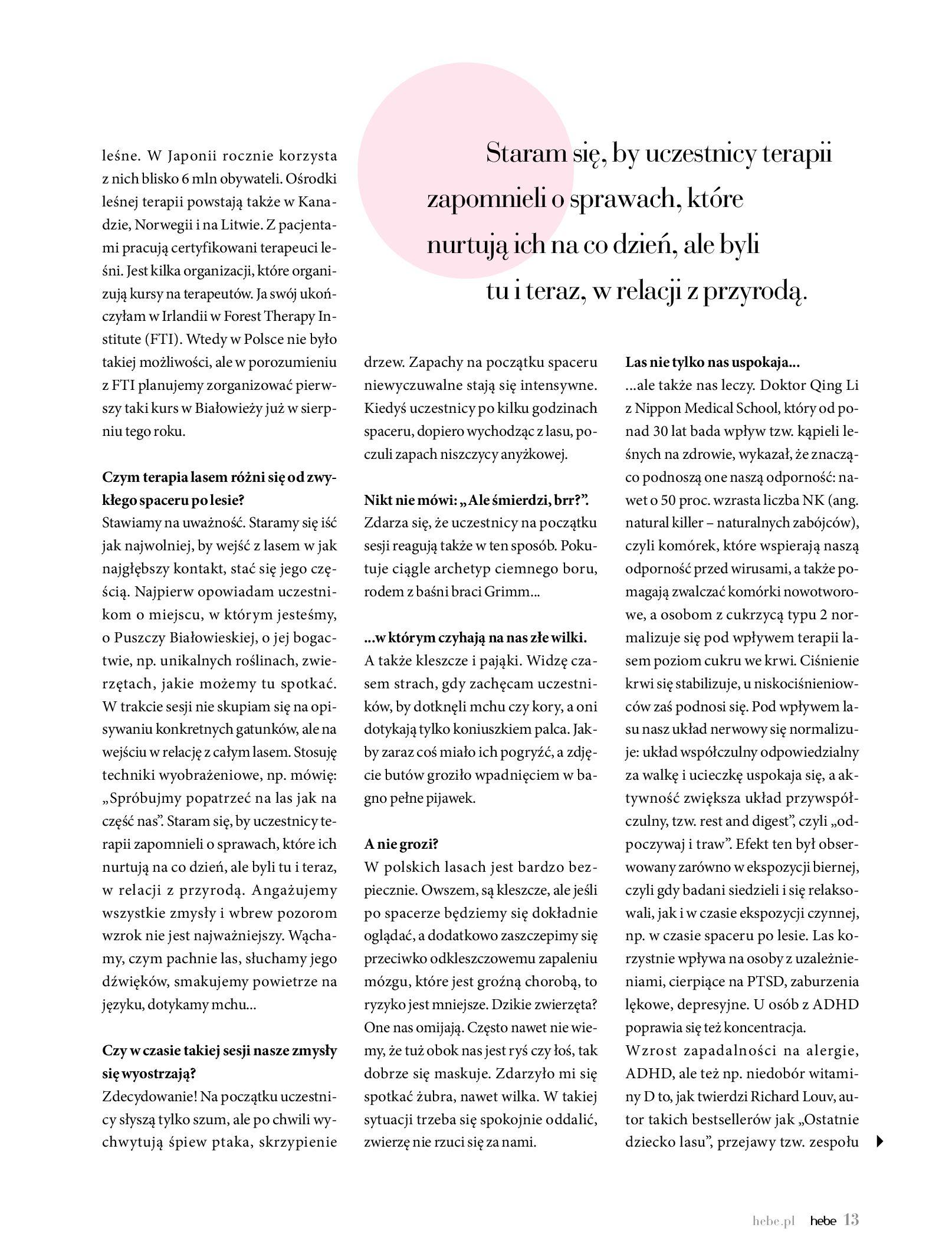 Gazetka hebe - Magazyn Hebe-30.06.2020-31.08.2020-page-13