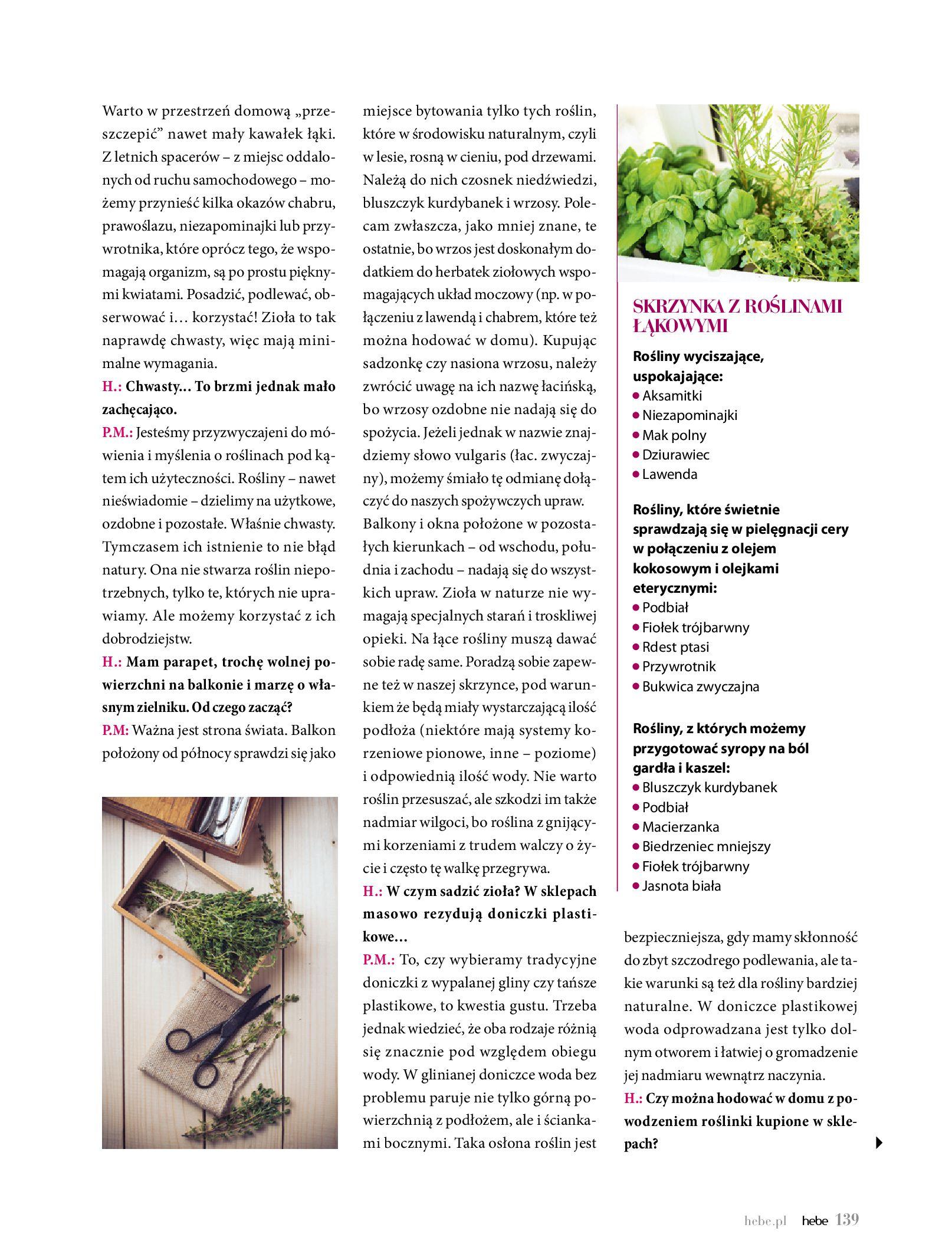 Gazetka hebe - Magazyn Hebe-30.06.2020-31.08.2020-page-139