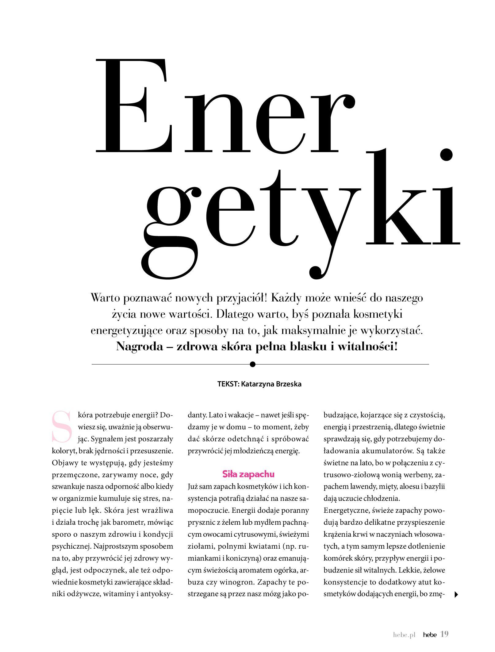 Gazetka hebe - Magazyn Hebe-30.06.2020-31.08.2020-page-19
