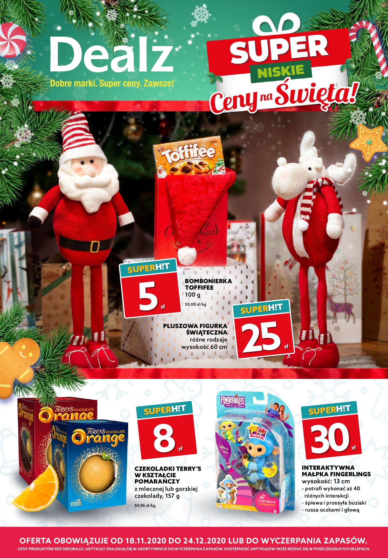Gazetka Dealz  - Katalog świąteczny -17.11.2020-24.11.2020-page-1