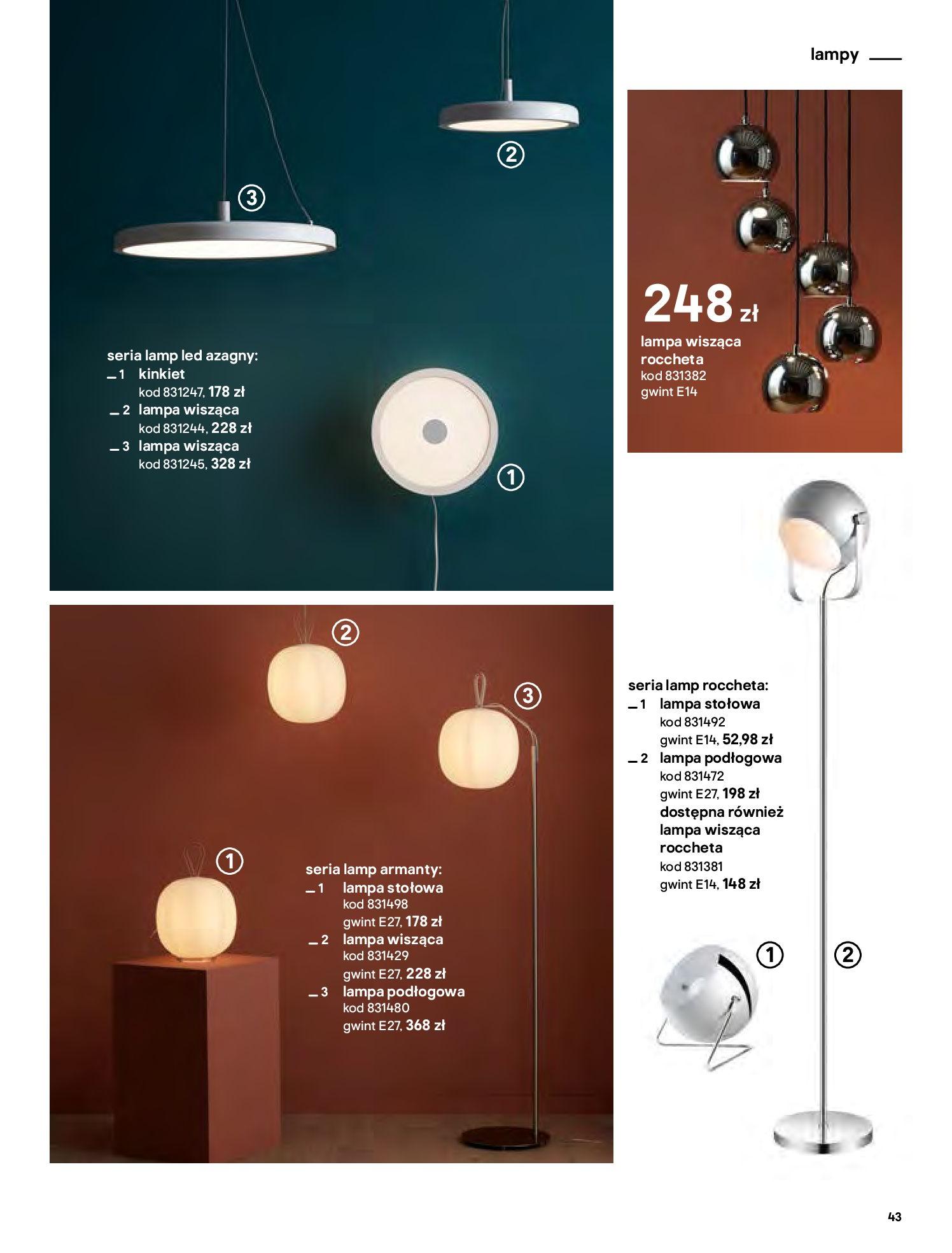 Gazetka Castorama - Katalog Dekoracje-22.10.2020-31.12.2020-page-43