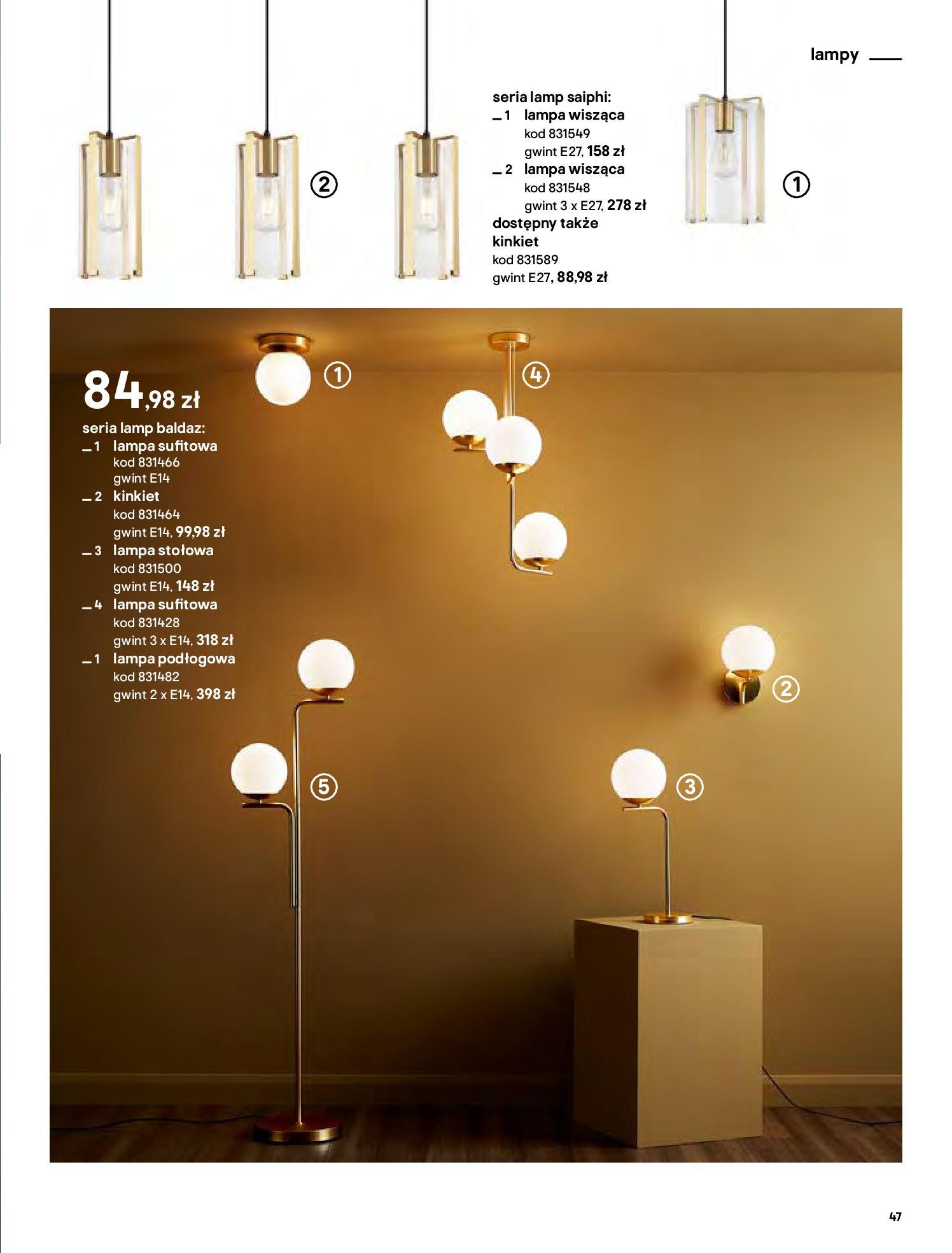 Gazetka Castorama - Katalog Dekoracje-22.10.2020-31.12.2020-page-47