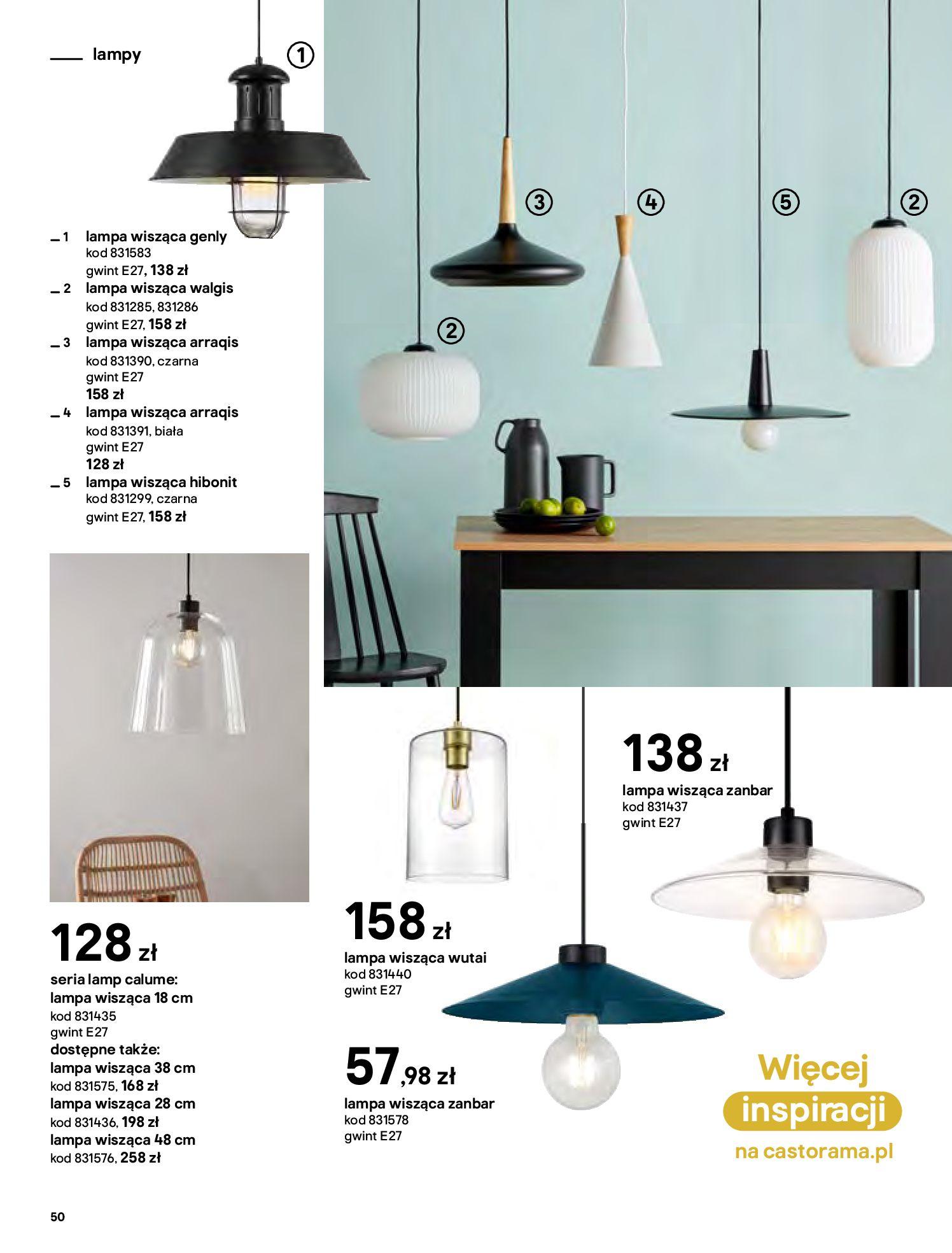 Gazetka Castorama - Katalog Dekoracje-22.10.2020-31.12.2020-page-50
