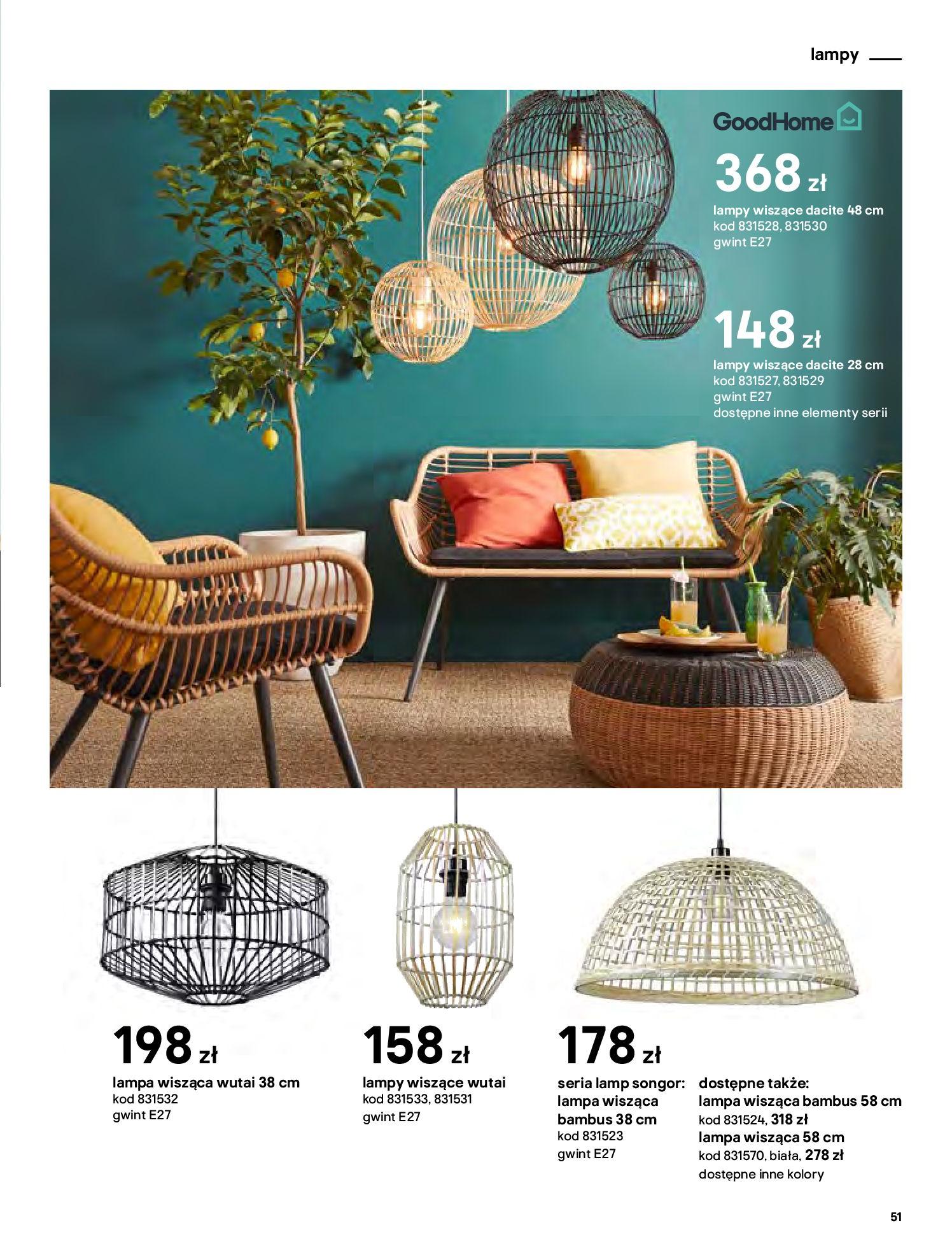 Gazetka Castorama - Katalog Dekoracje-22.10.2020-31.12.2020-page-51