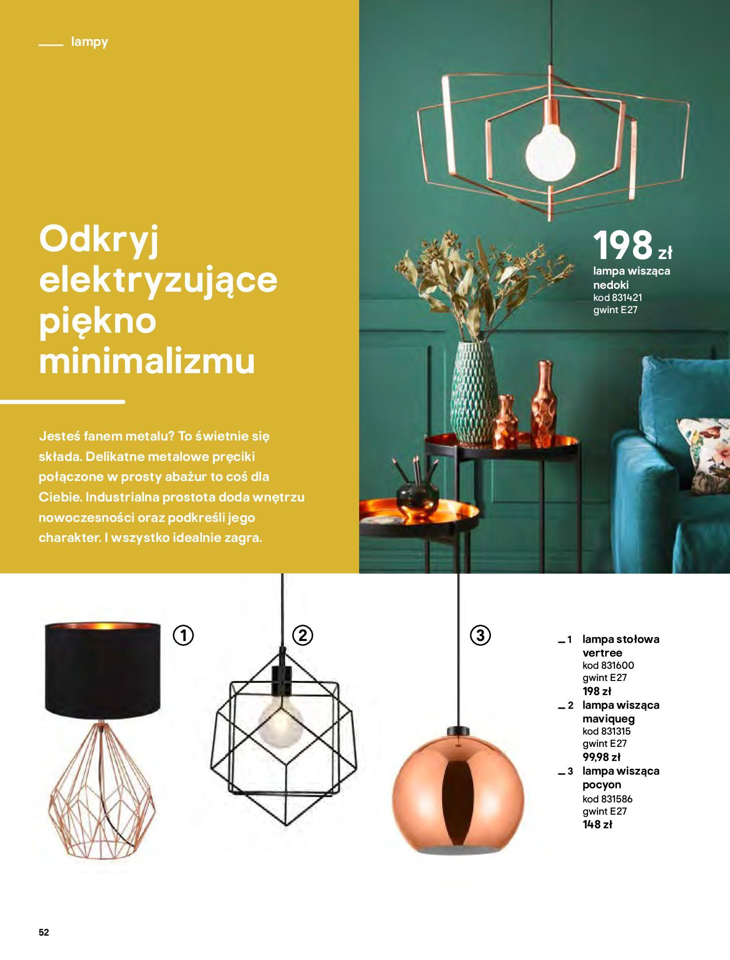 Gazetka Castorama - Katalog Dekoracje-22.10.2020-31.12.2020-page-52